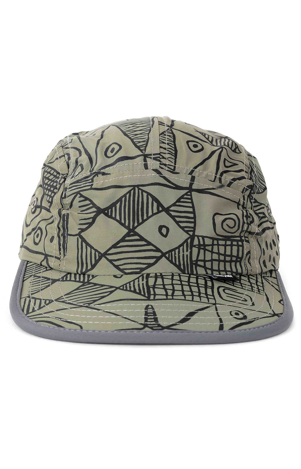 Marco Soft Bill 5 Panel Hat - Olive  2