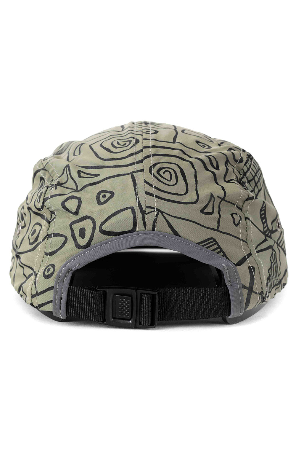 Marco Soft Bill 5 Panel Hat - Olive  3