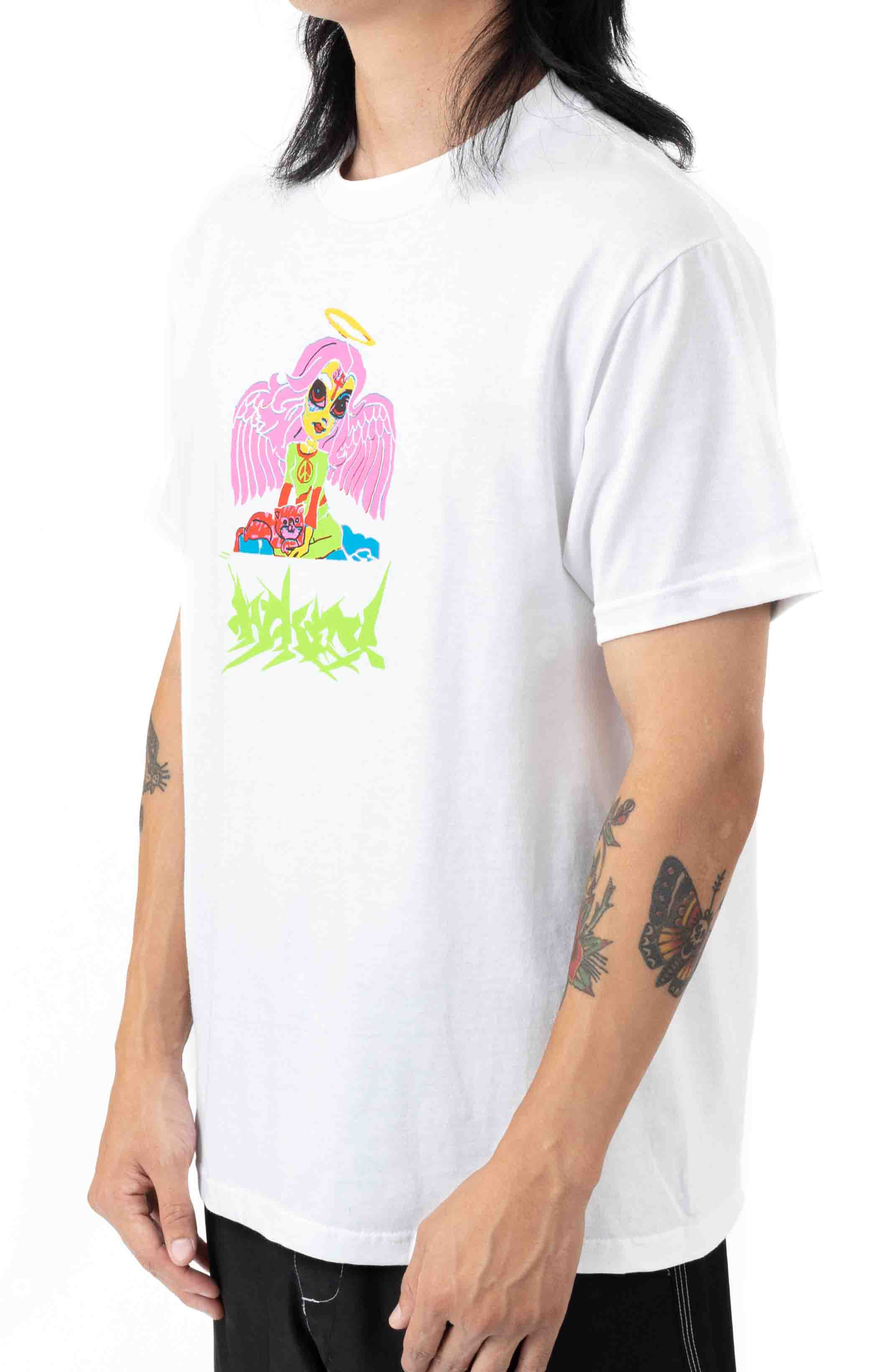 Rave Party T-Shirt - White  2