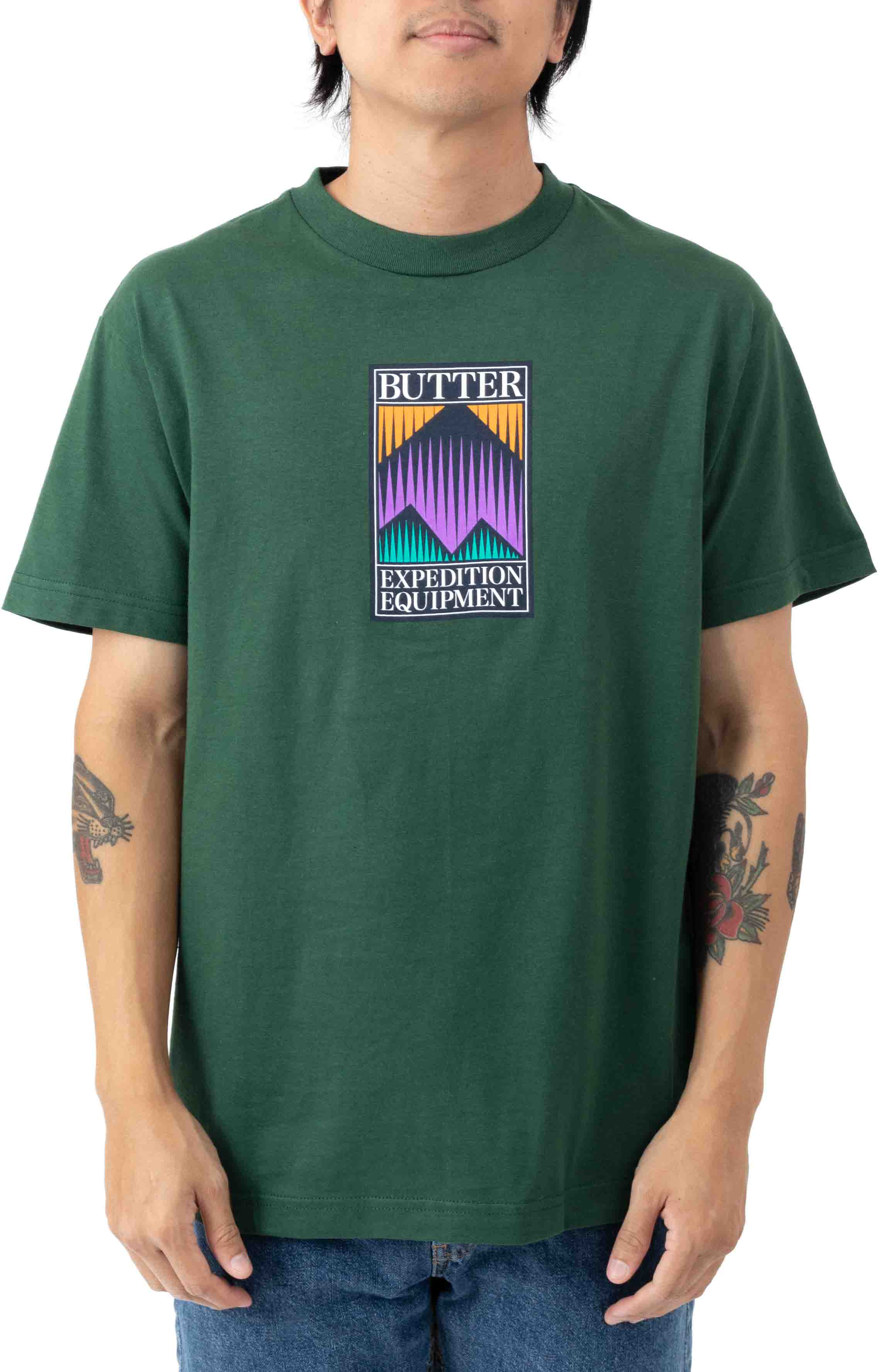Expedition T-Shirt - Forest Green