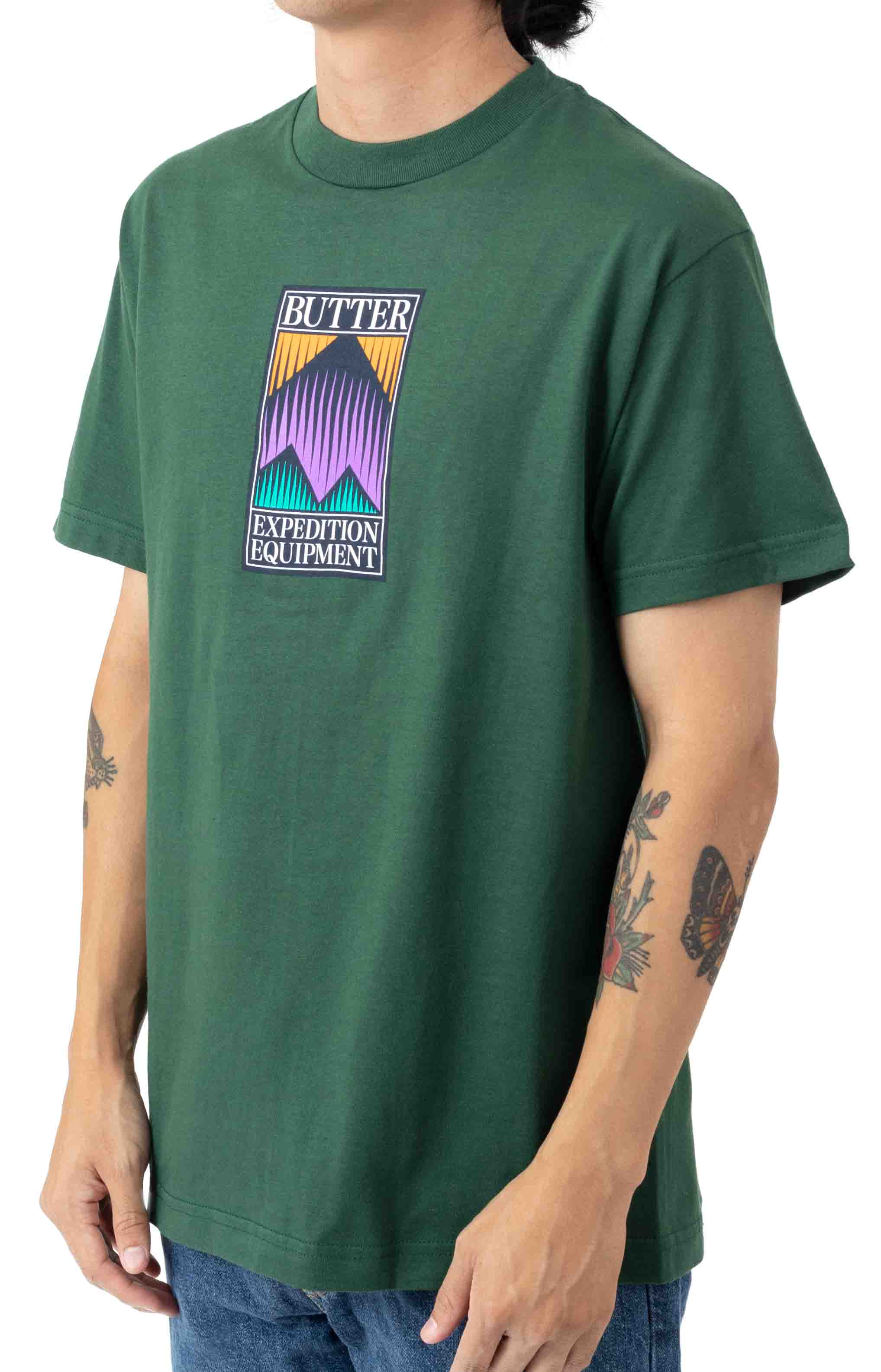Expedition T-Shirt - Forest Green  2