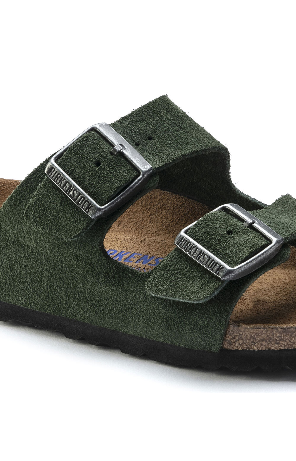 (1018143) Arizona Soft Footbed Sandals - Mountain View Green  3