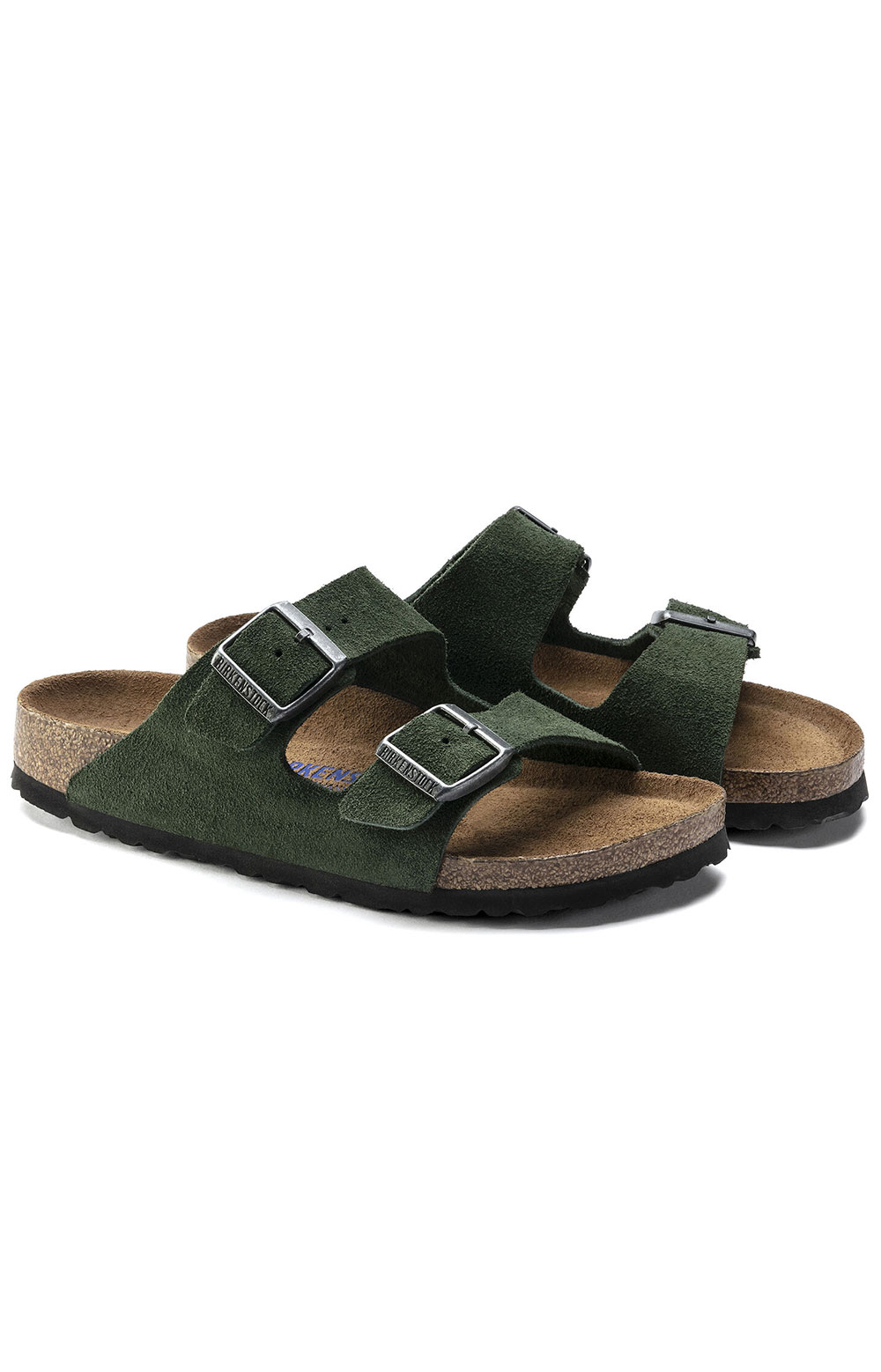 (1018143) Arizona Soft Footbed Sandals - Mountain View Green
