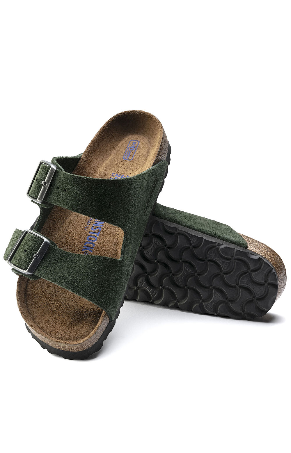 (1018143) Arizona Soft Footbed Sandals - Mountain View Green  5