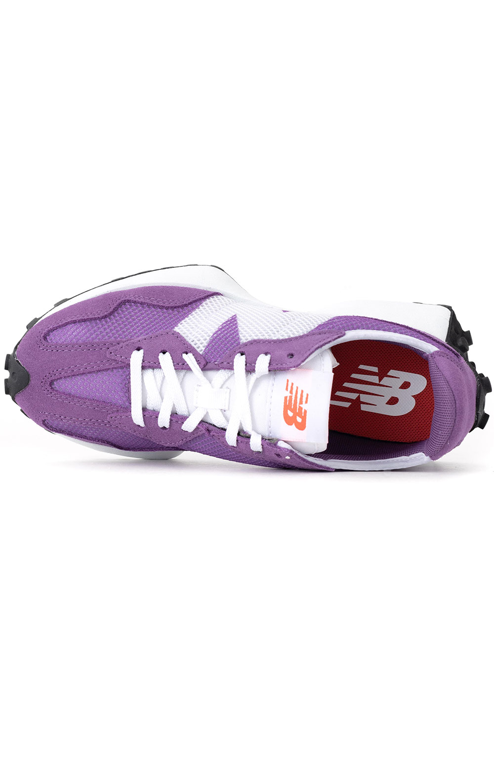 (WS327HE) 327 Shoes - Virtual Violet/Ghost Pepper  2