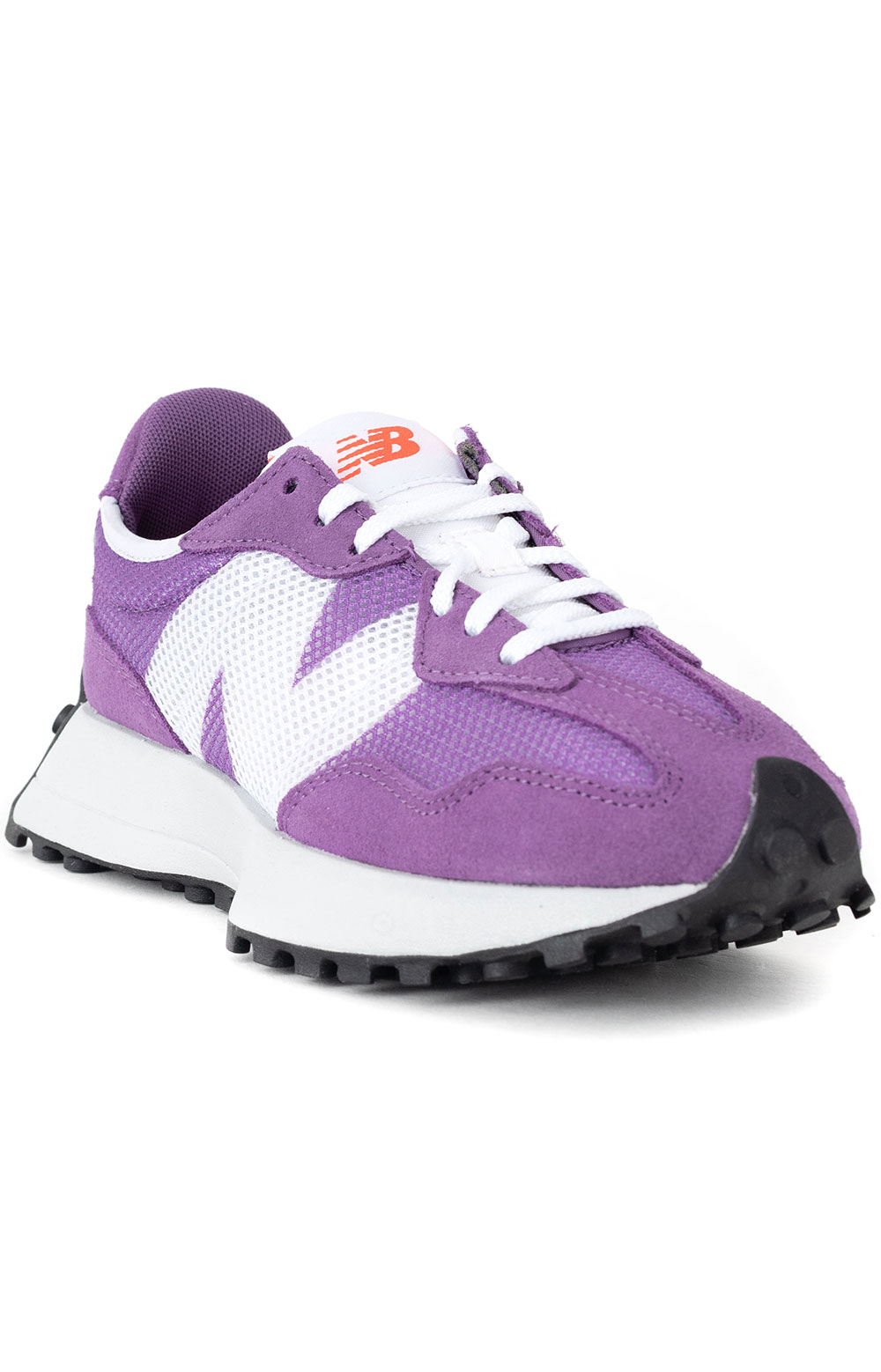 (WS327HE) 327 Shoes - Virtual Violet/Ghost Pepper  3