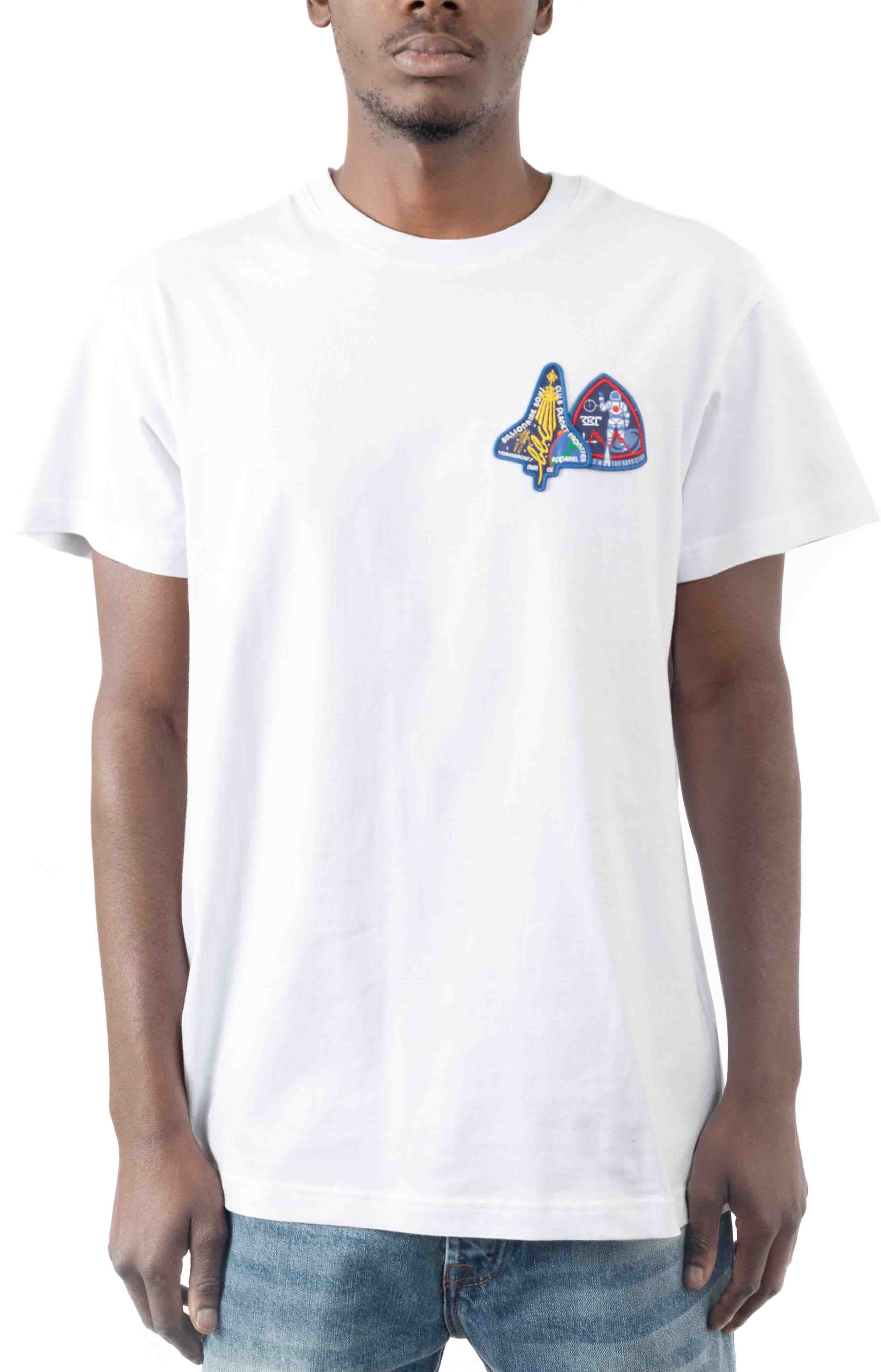 BB Frontier SS Knit T-Shirt - White  2
