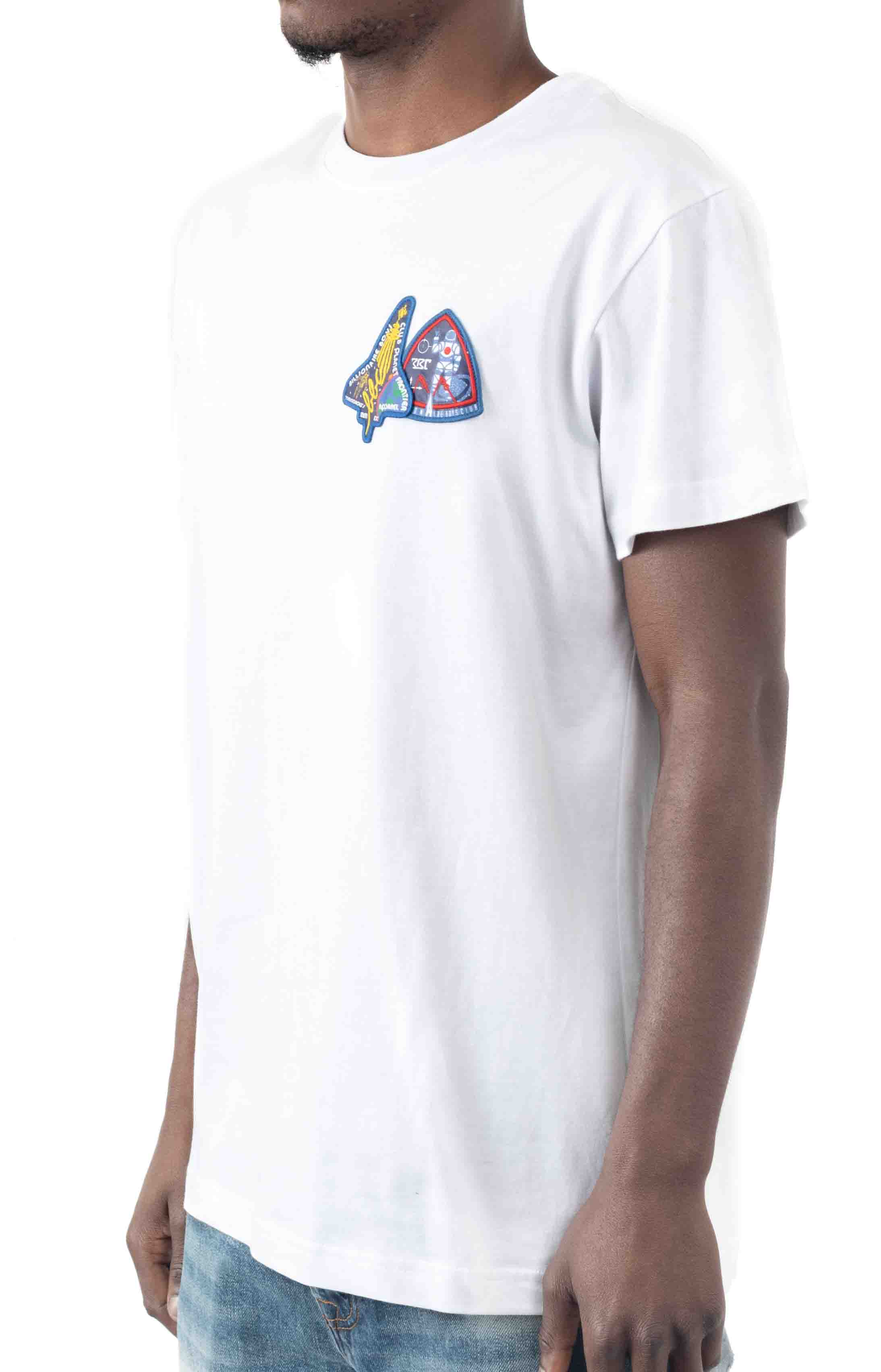 BB Frontier SS Knit T-Shirt - White  3