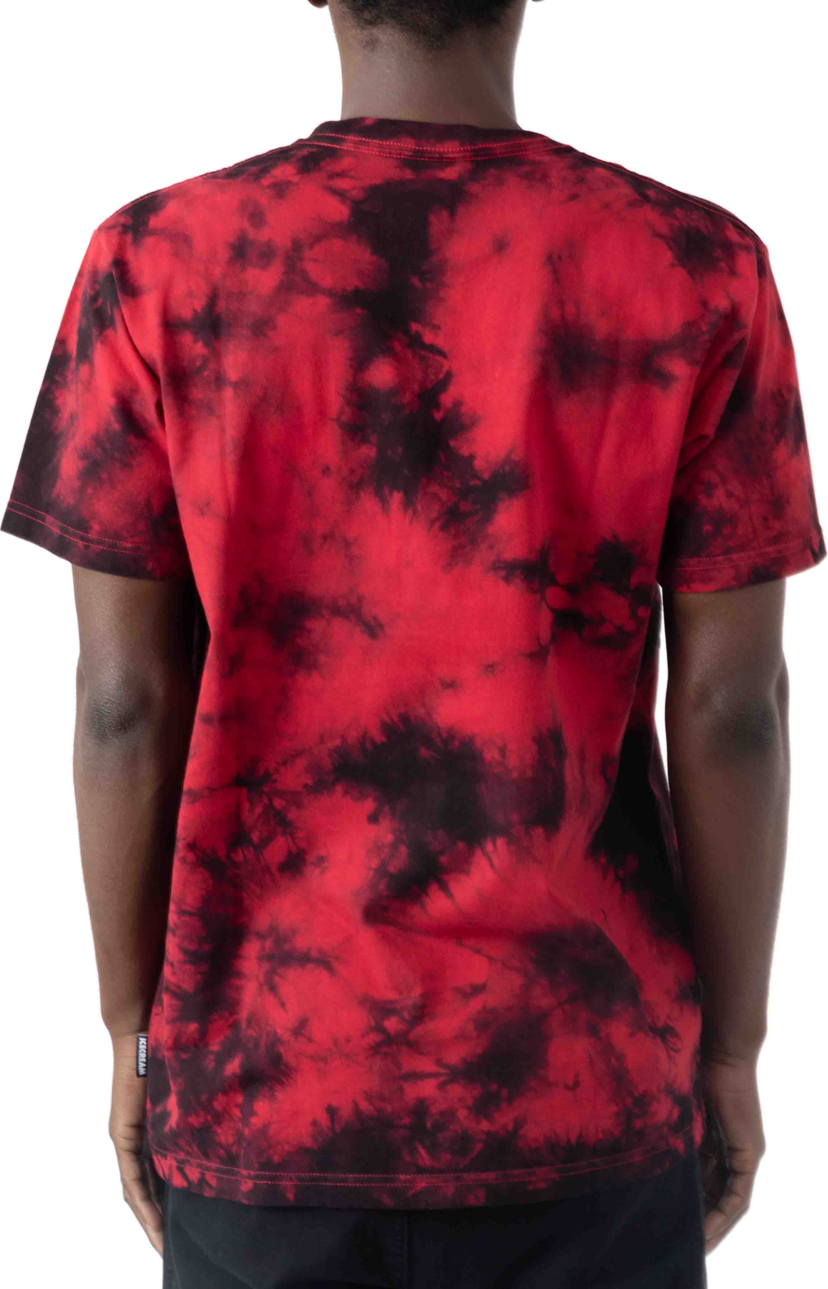 Spoon Fed SS Knit T-Shirt - Tango Red  3