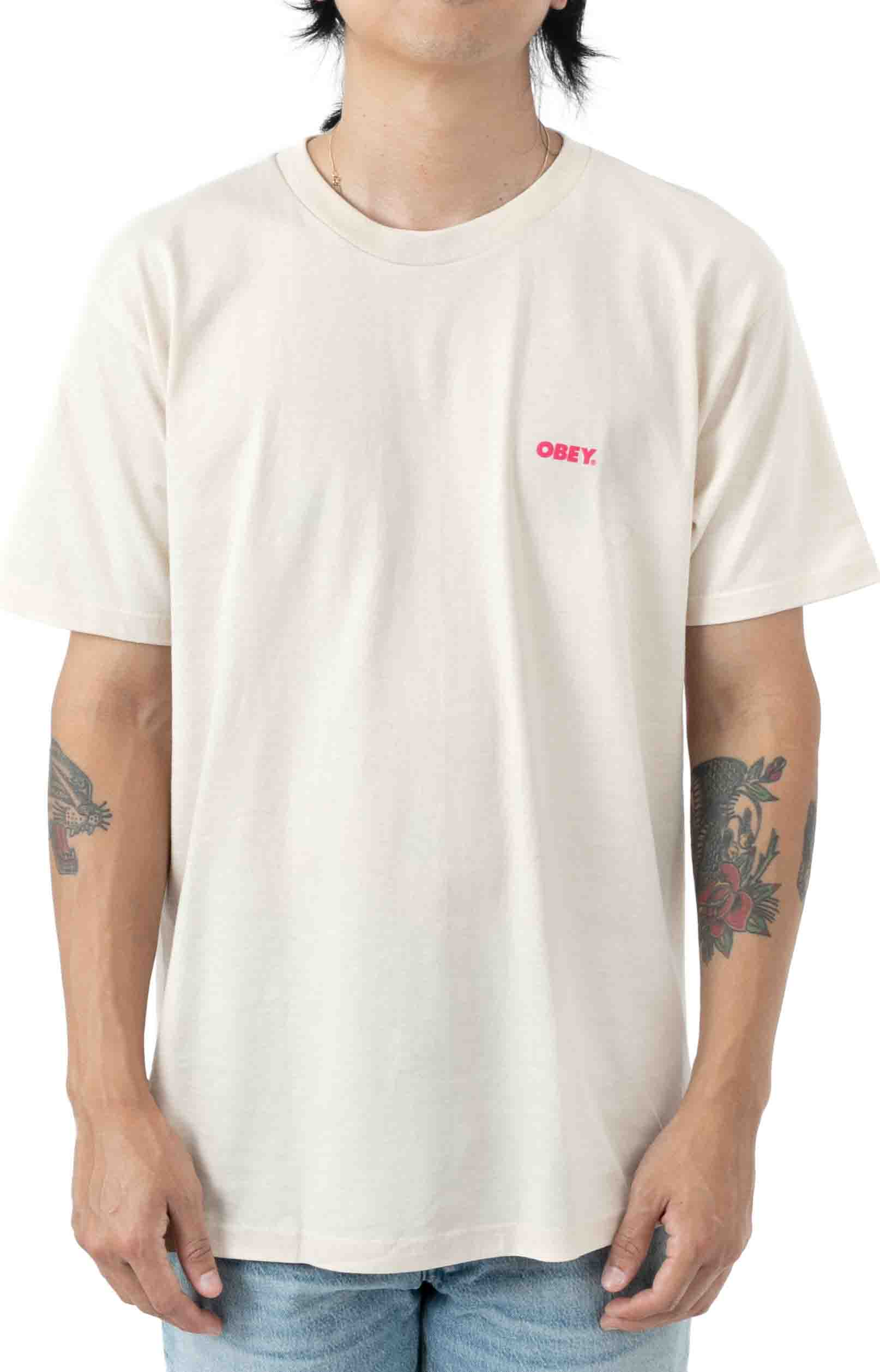 Blood and Roses T-Shirt - Cream  2