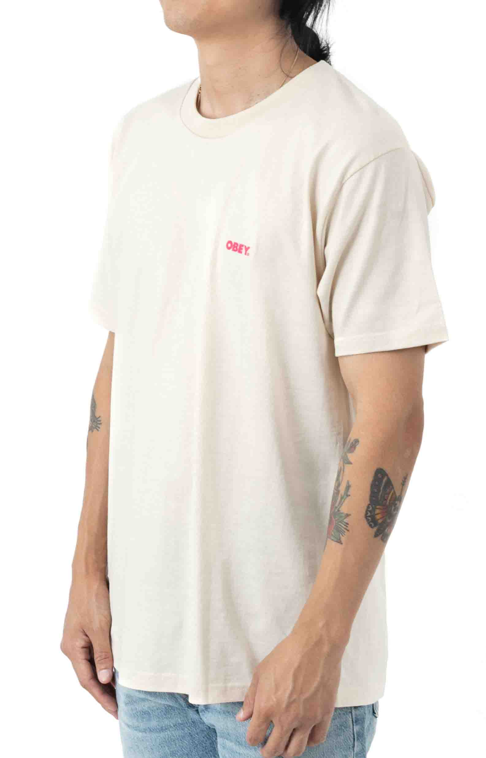Blood and Roses T-Shirt - Cream  3