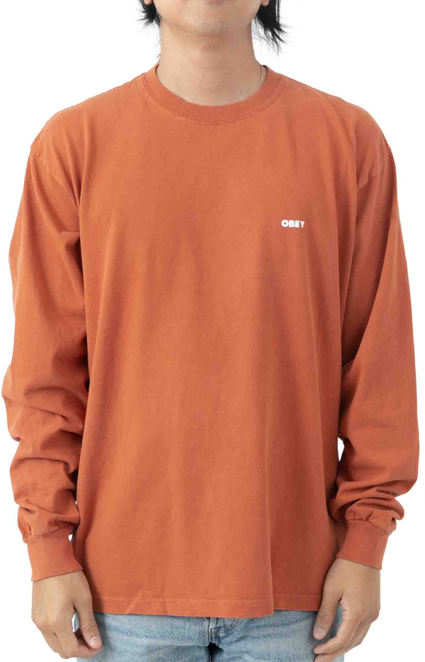 Bold 2 L/S Polo - Ginger