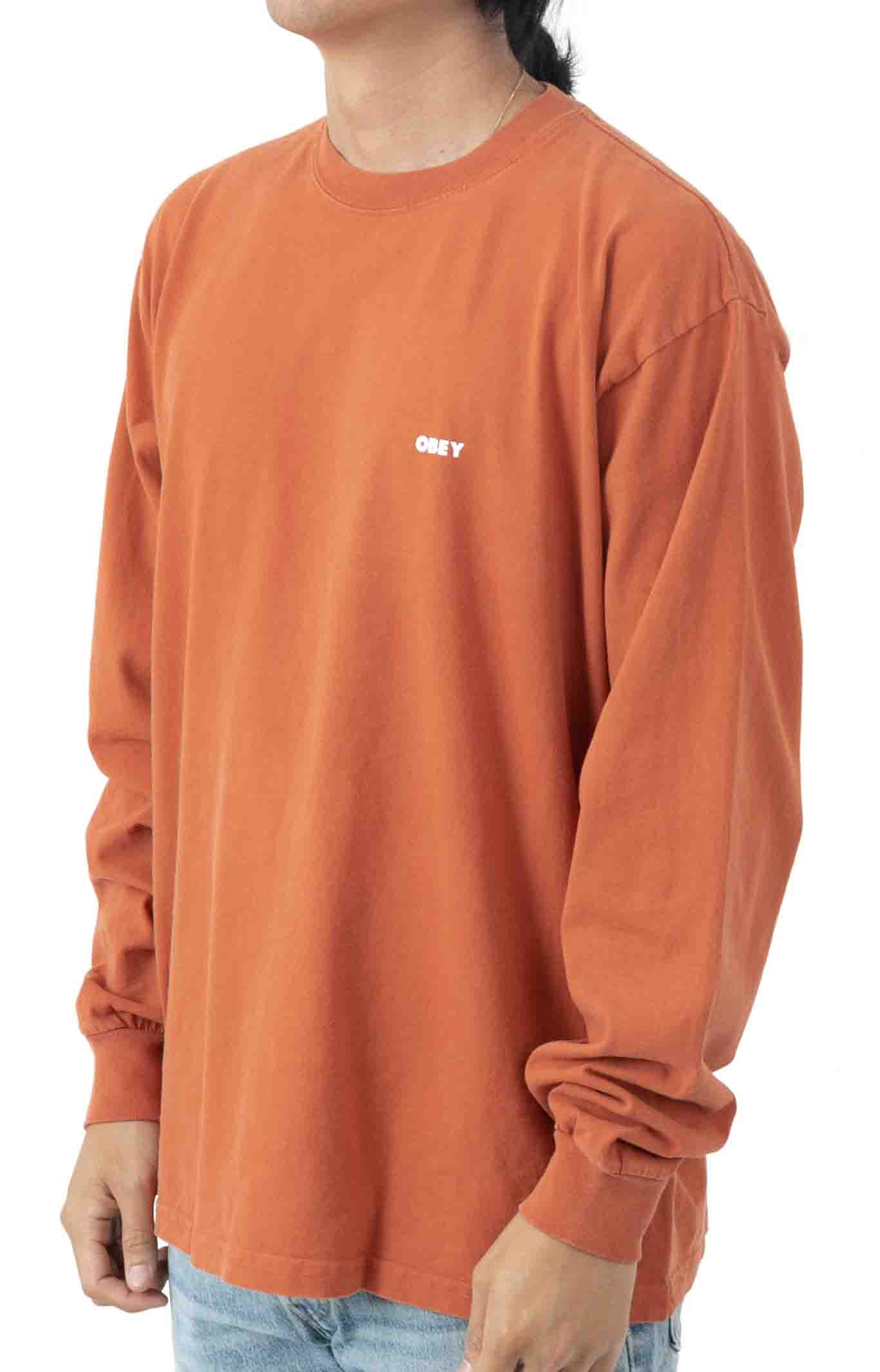 Bold 2 L/S Polo - Ginger  2