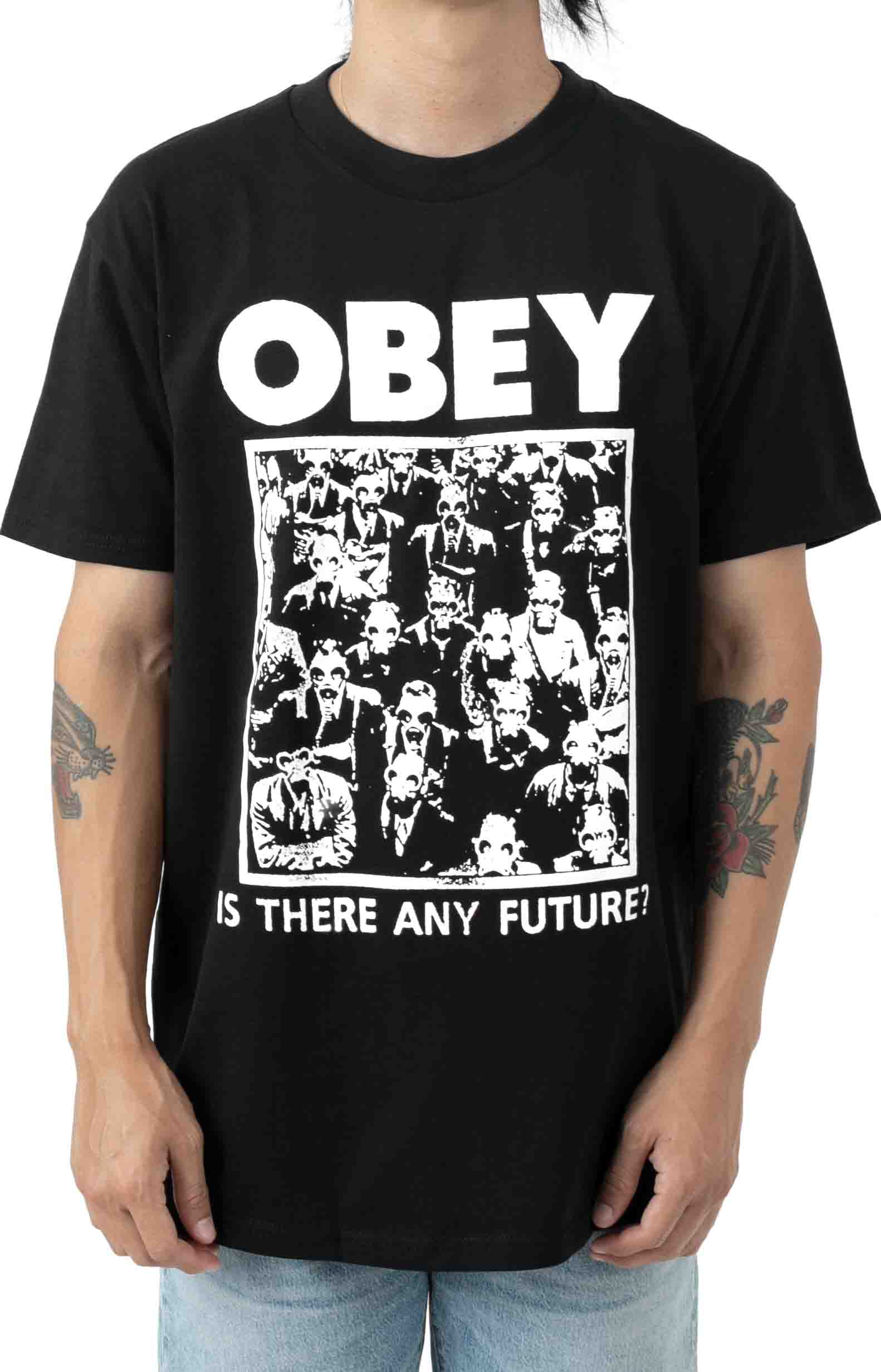 Is there Any Future T-Shirt - Black