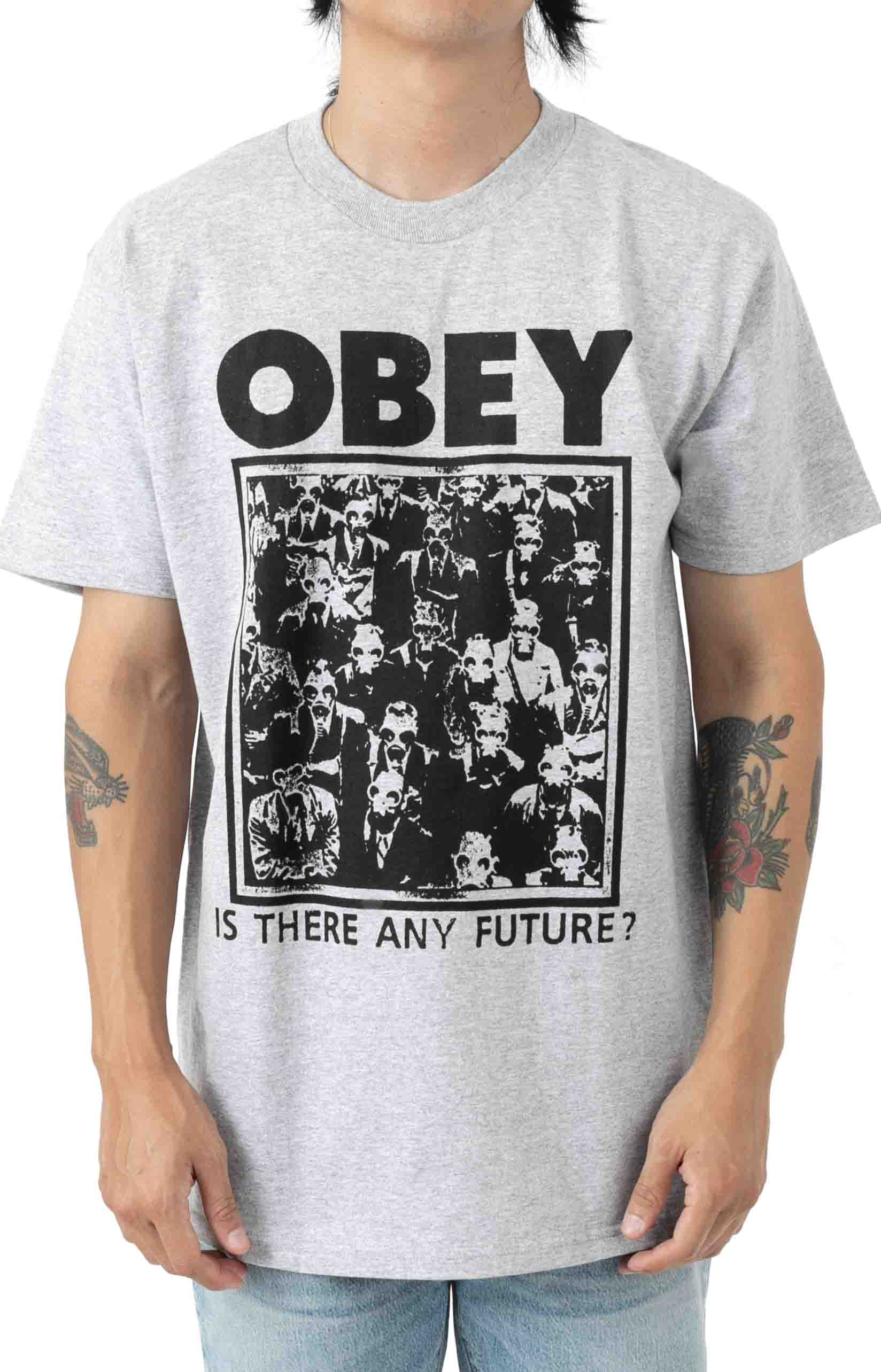 Is there Any Future T-Shirt - Heather Grey