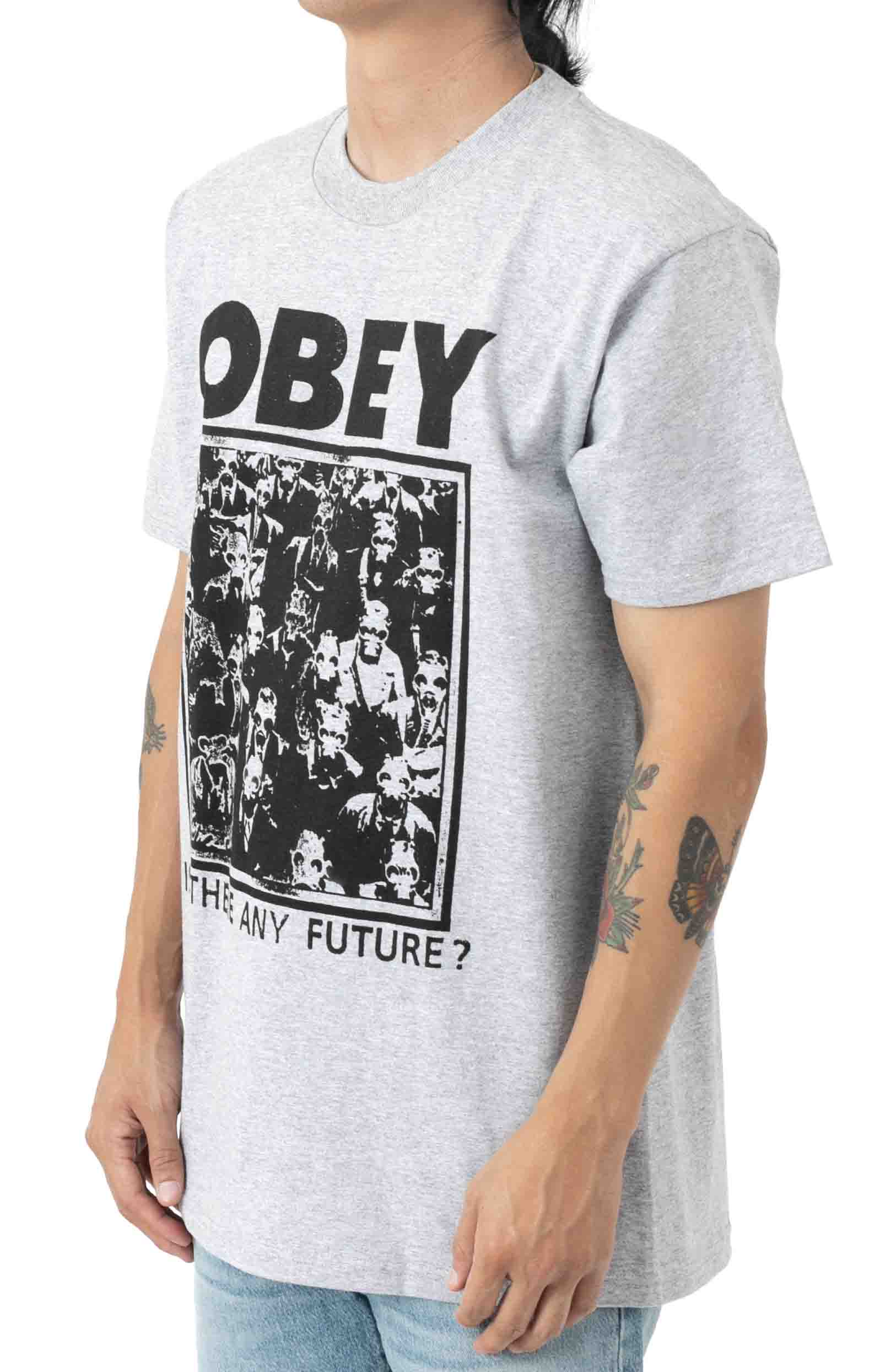 Is there Any Future T-Shirt - Heather Grey 2