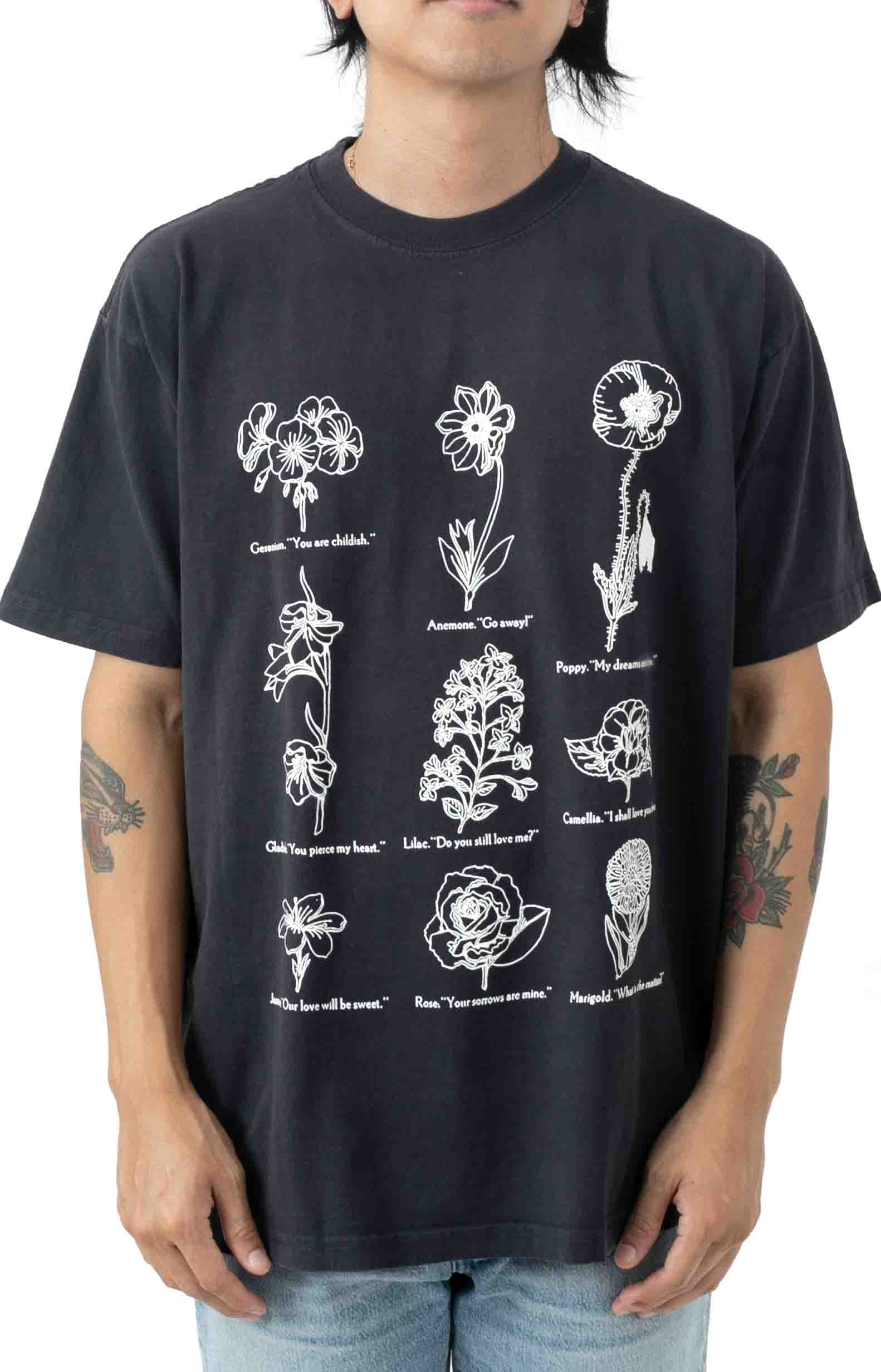 Flower Packet T-Shirt - French Navy