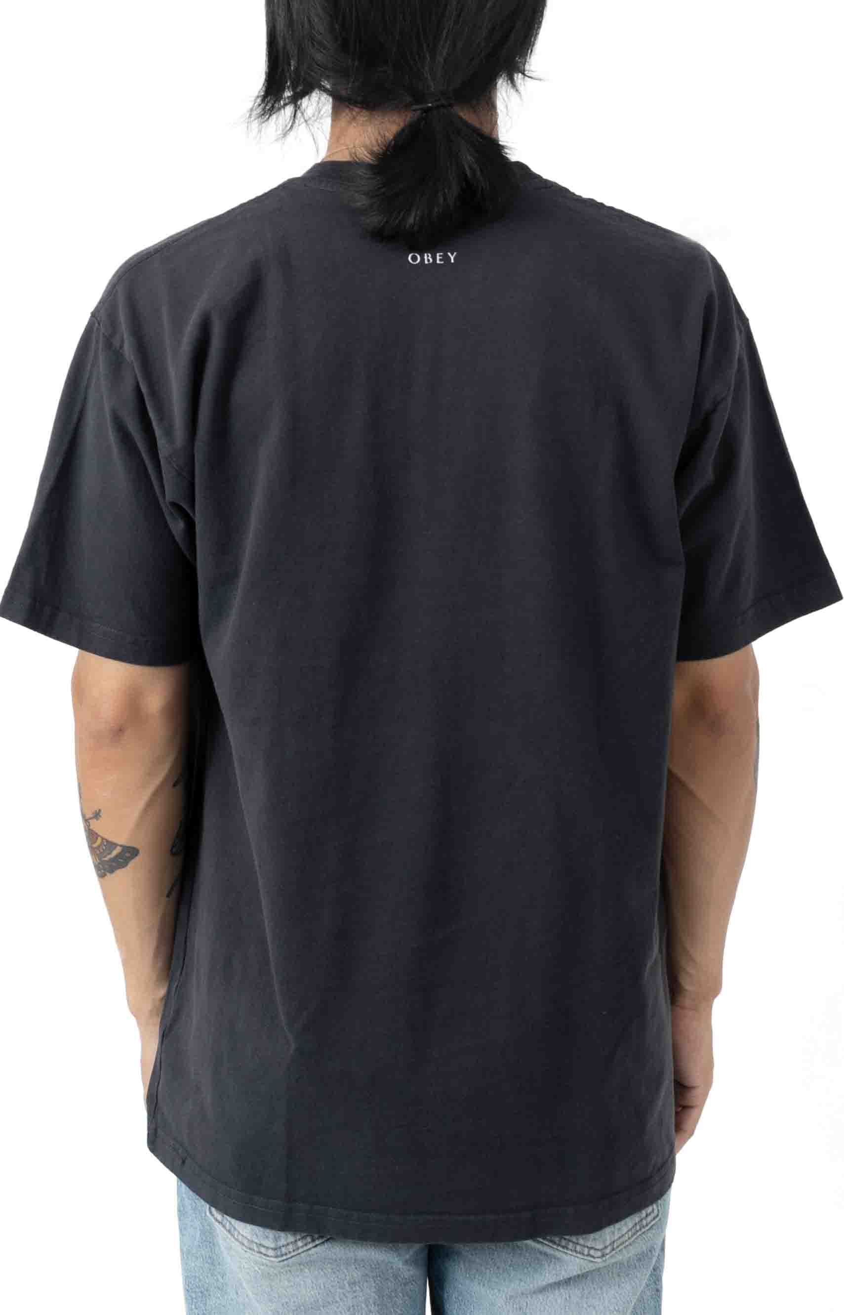 Flower Packet T-Shirt - French Navy  3