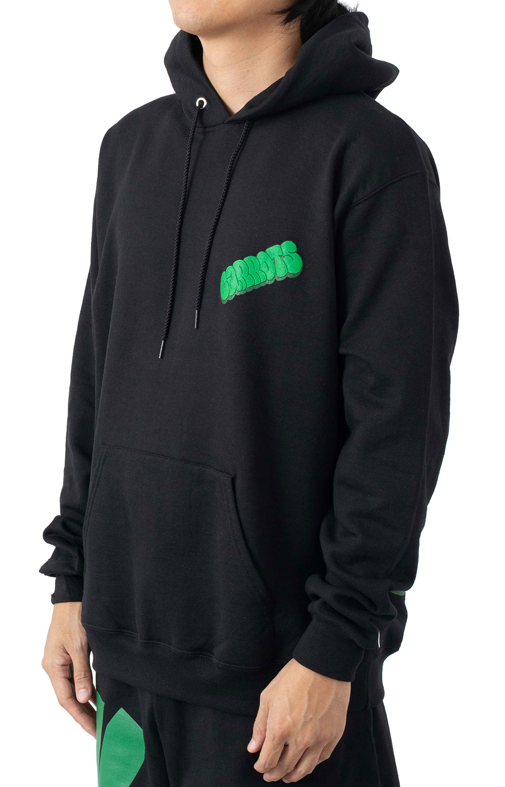 Hit Up Champion Pullover Hoodie - Black  2