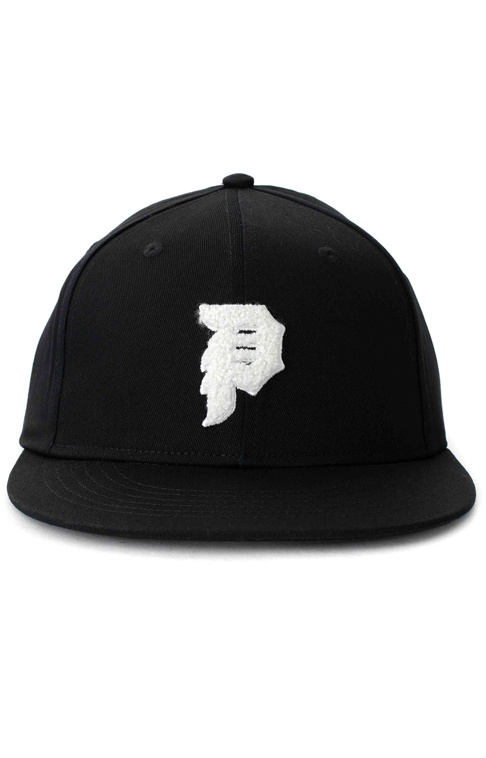 Dirty P Chenille Snap-Back Hat - Black  2