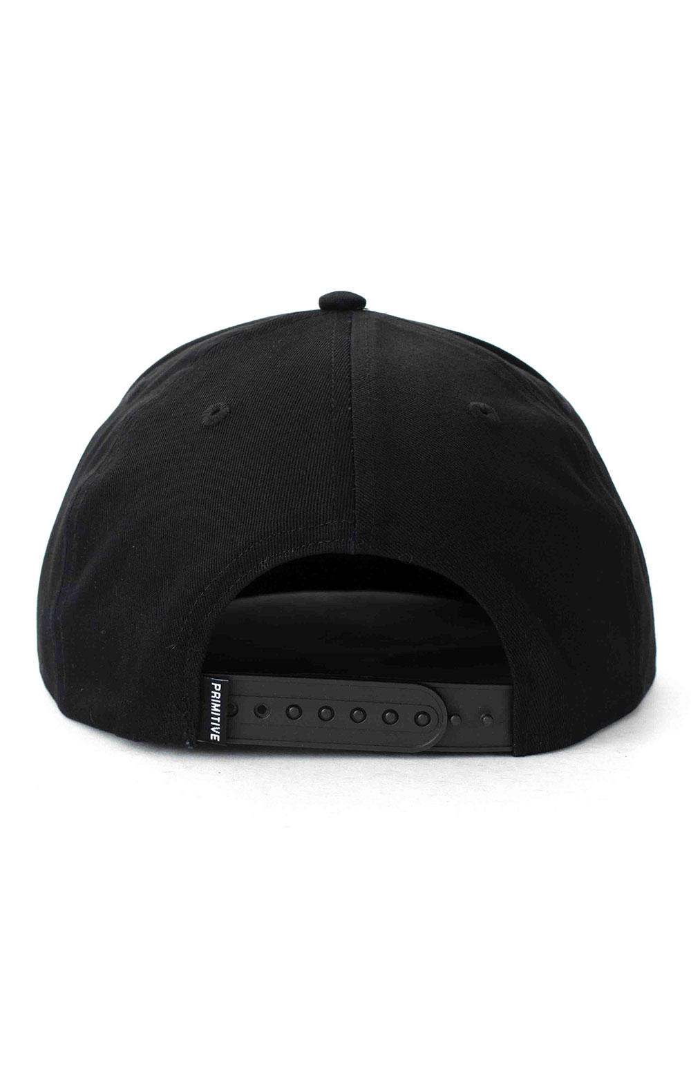 Dirty P Chenille Snap-Back Hat - Black  4