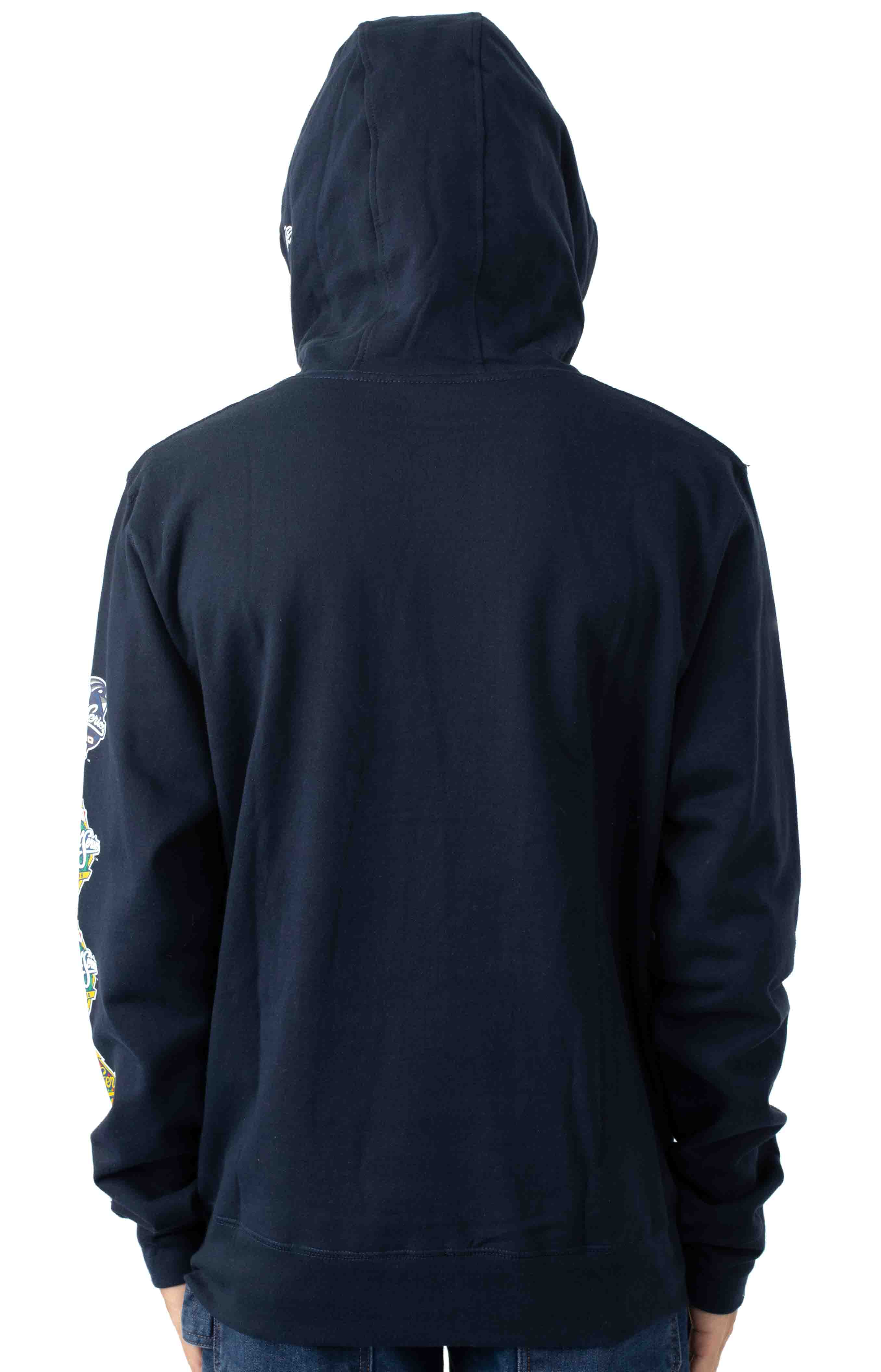 NY Yankees World Champions Pullover Hoodie - Navy 3