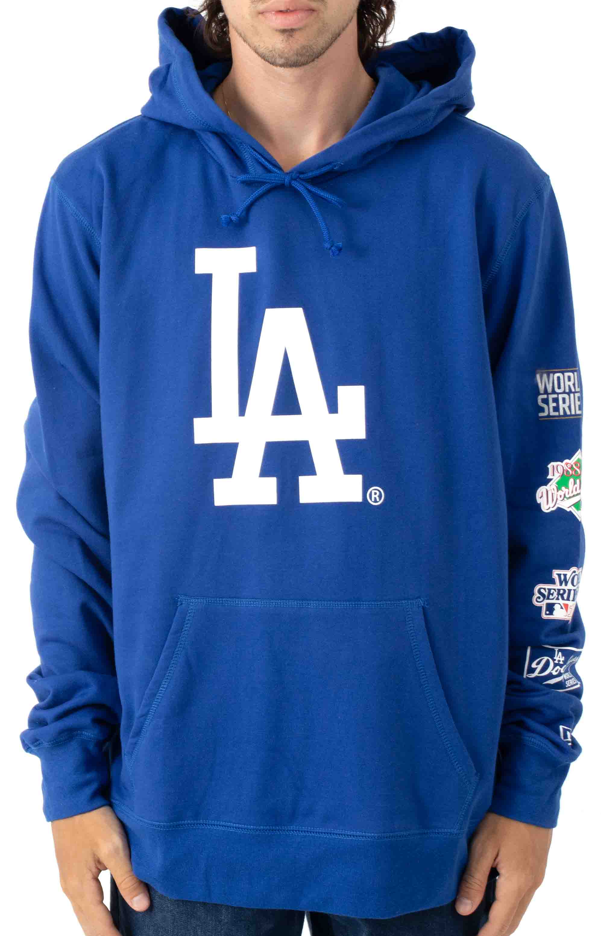 LA Dodgers World Chamoions Pullover Hoodie - Royal Blue