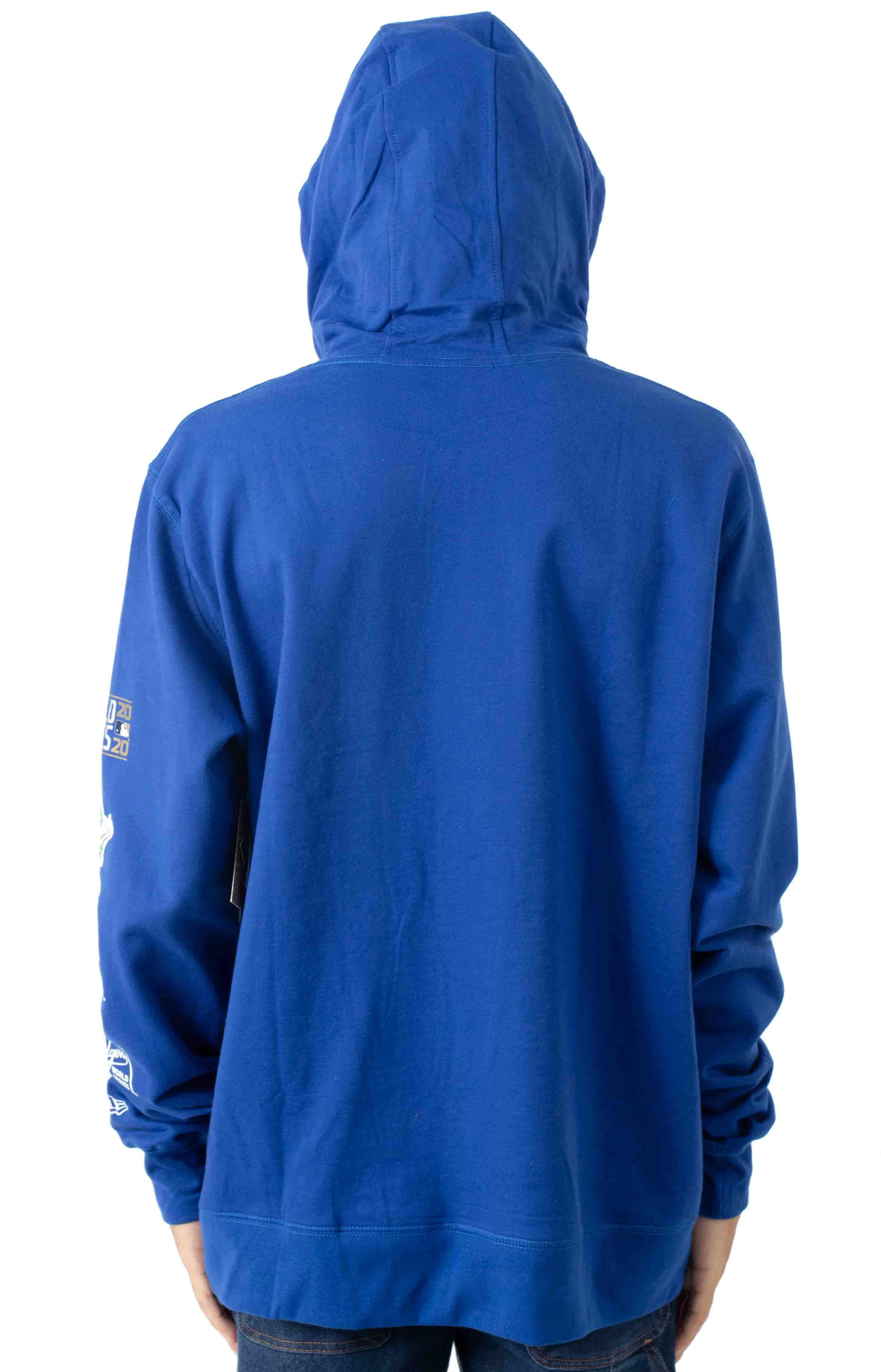 LA Dodgers World Chamoions Pullover Hoodie - Royal Blue  3