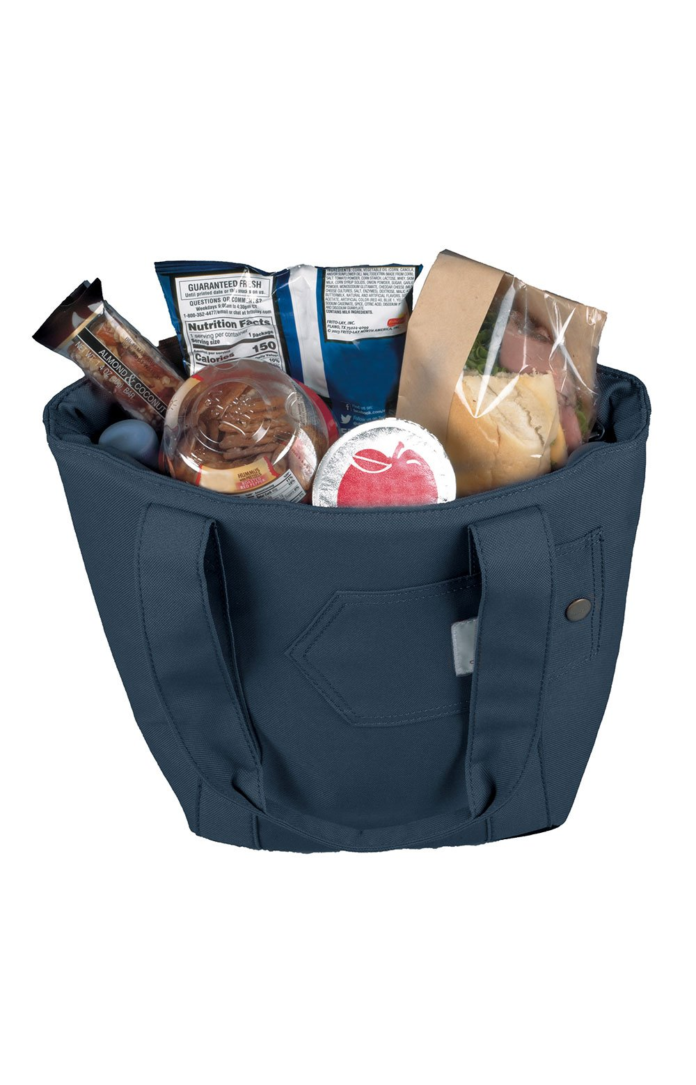 Lunch Tote Bag - Navy 4