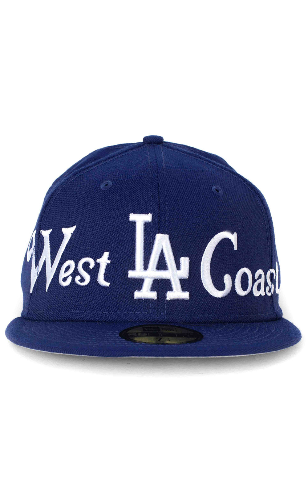 LA Dodgers City Nicknames 59Fifty Fitted Hat - Royal Blue  2