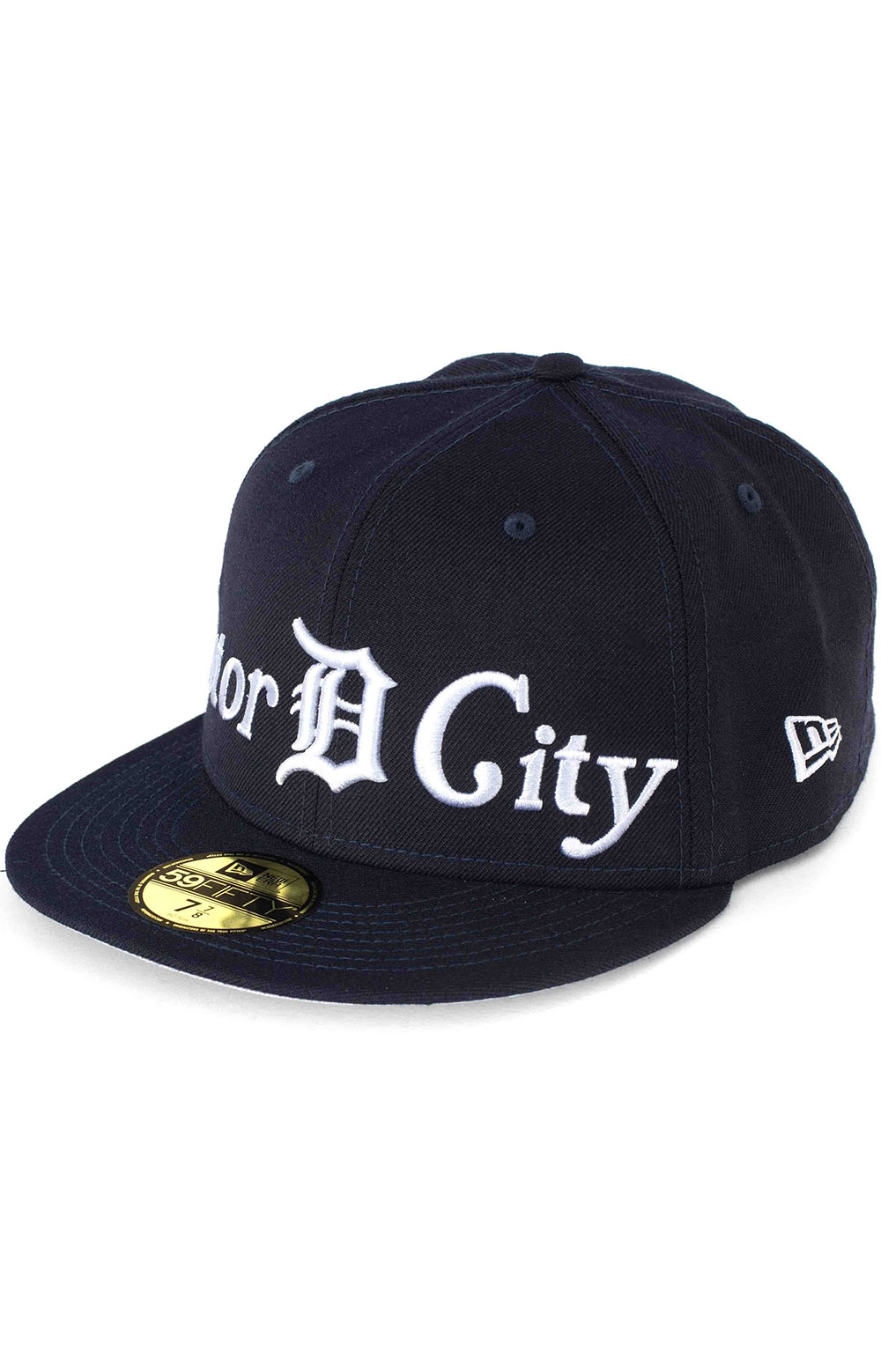 Detroit Tigers City Nicknames 59Fifty Fitted Hat - Navy
