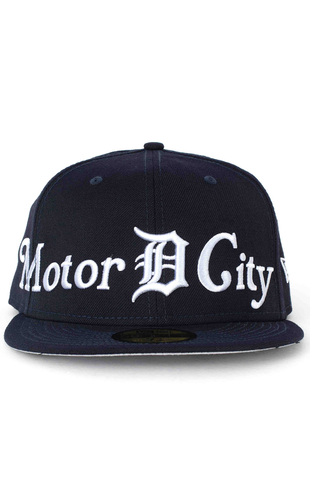 Detroit Tigers City Nicknames 59Fifty Fitted Hat - Navy 2