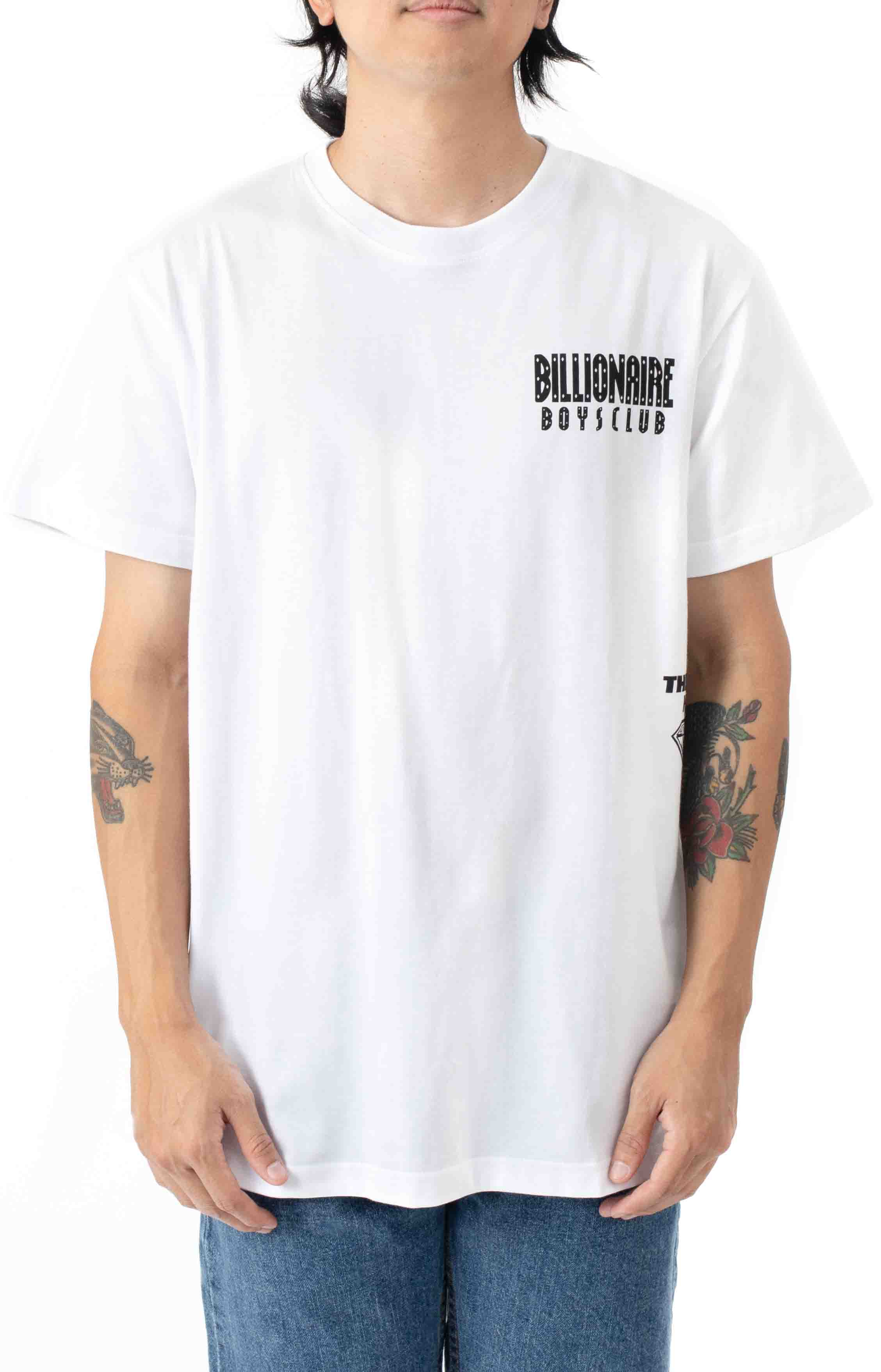 Orion T-Shirt - Bleached White