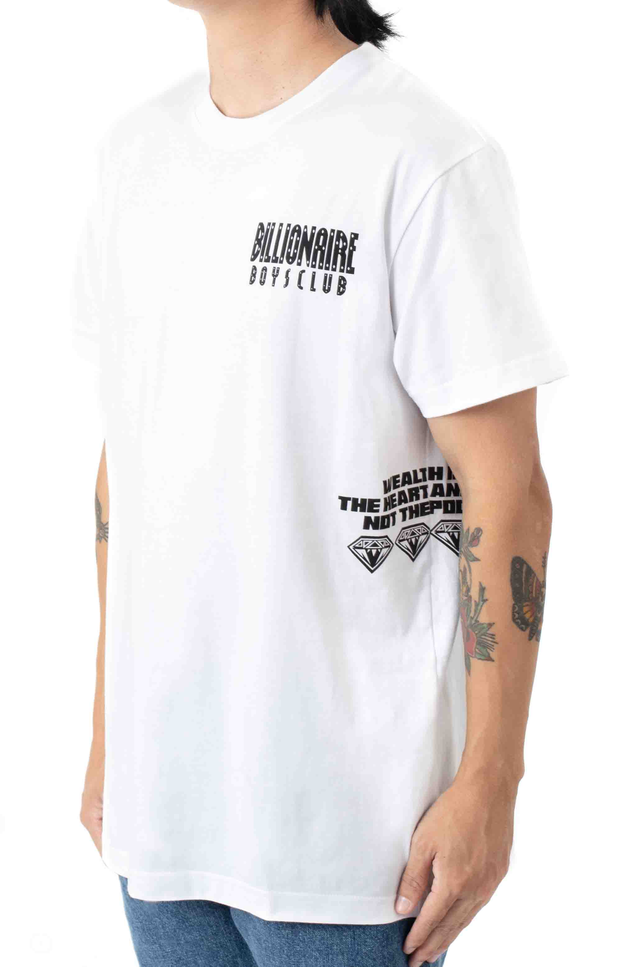 Orion T-Shirt - Bleached White  2