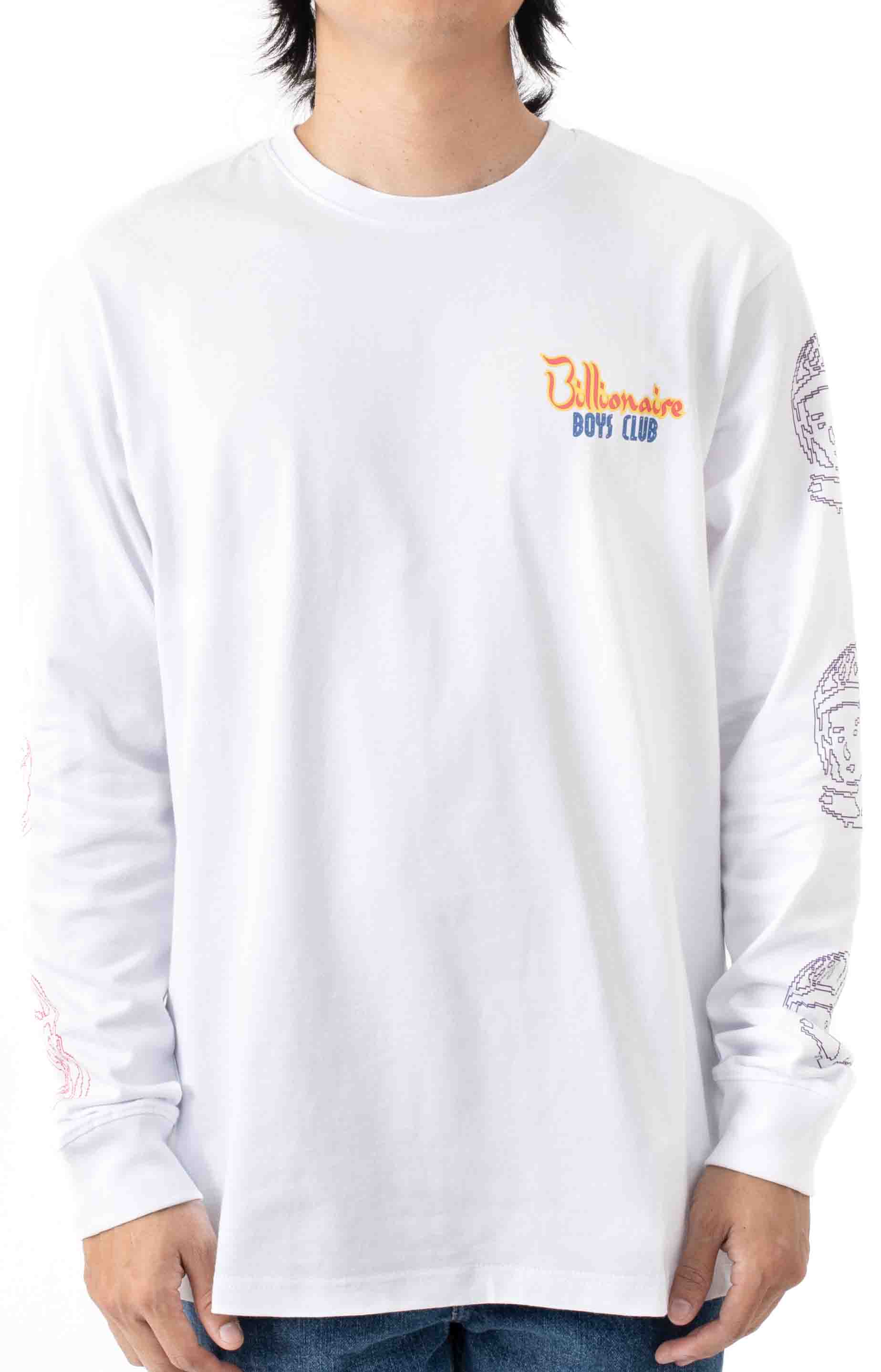 Heart and Mind L/S Shirt - White  2