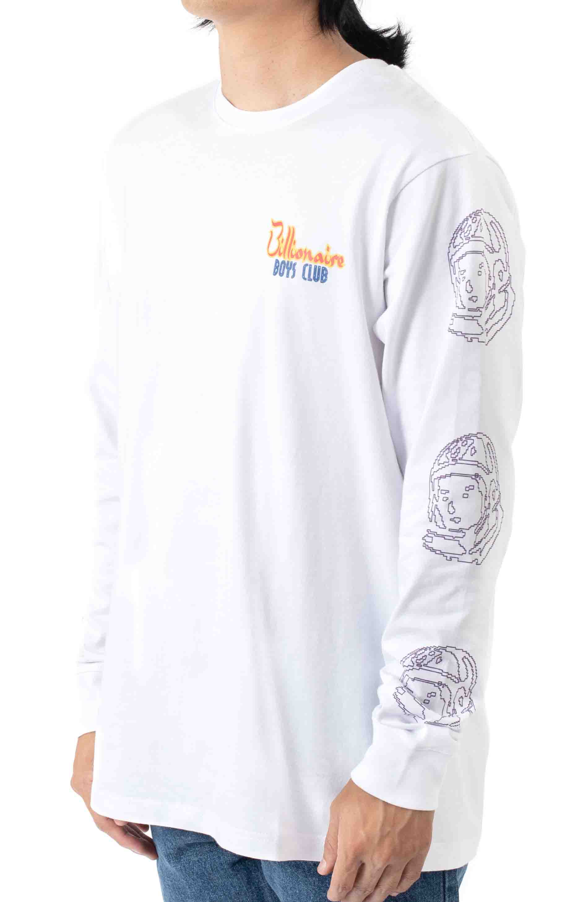 Heart and Mind L/S Shirt - White  3