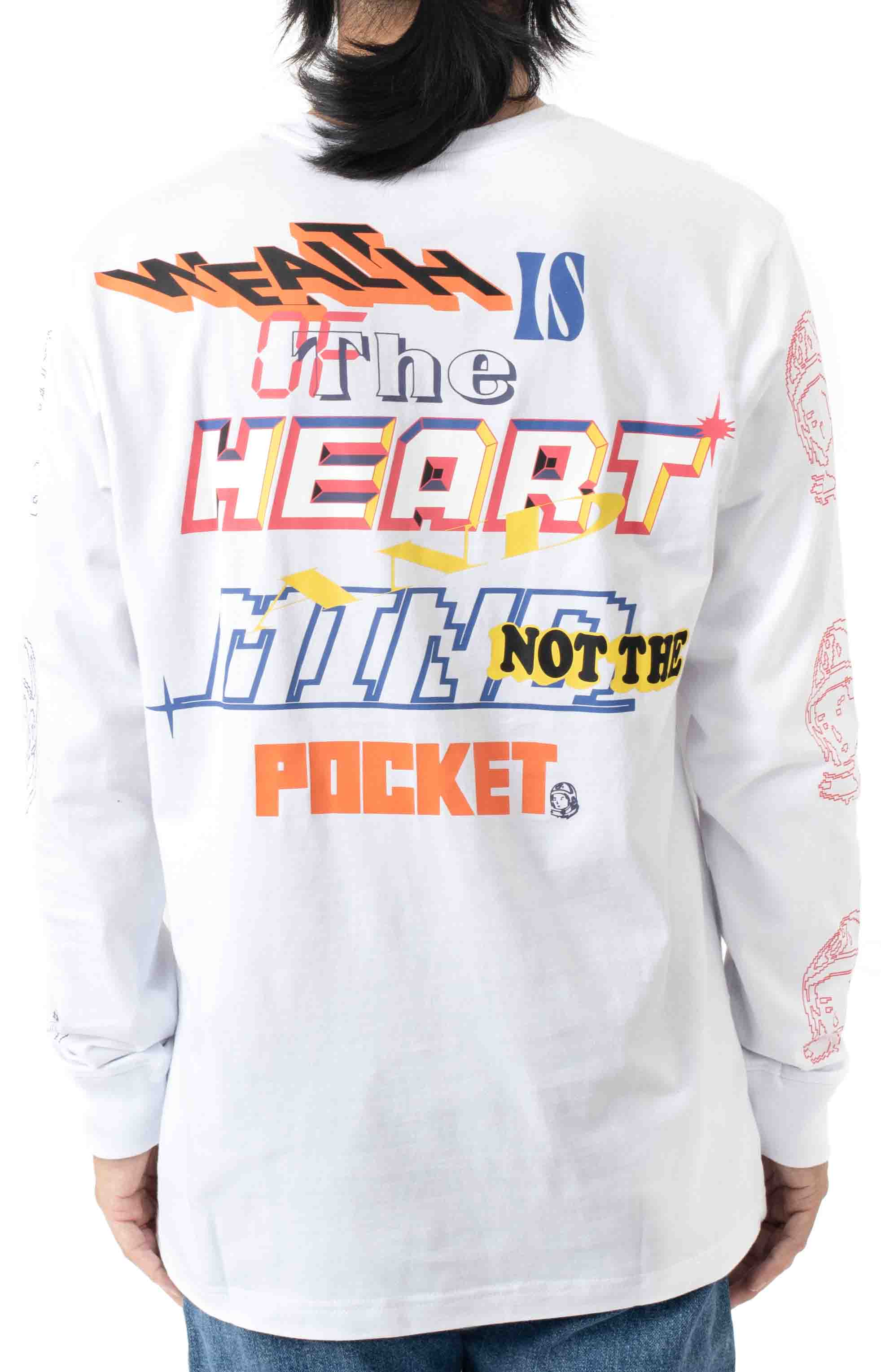 Heart and Mind L/S Shirt - White