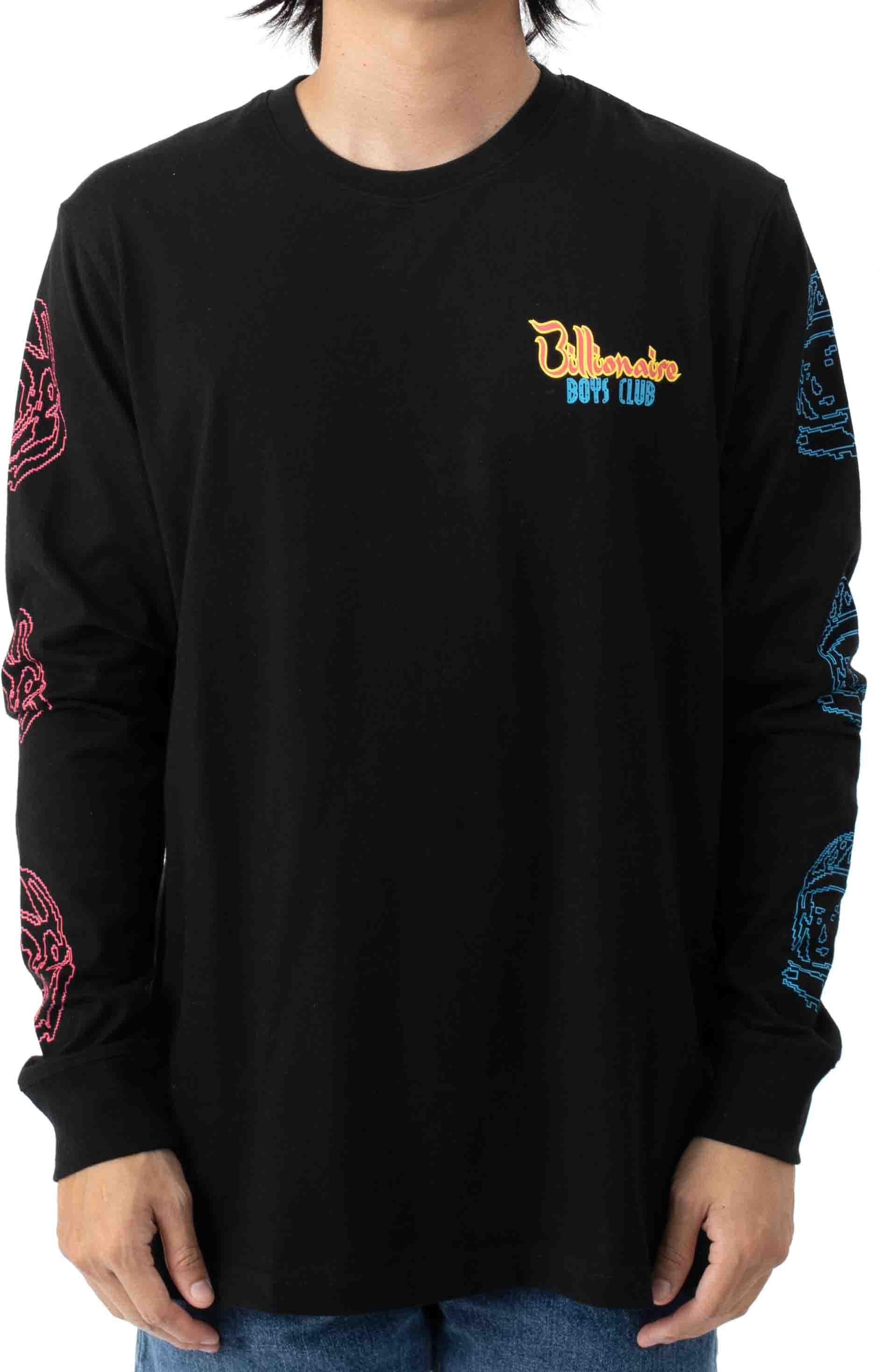 Heart and Mind L/S Shirt - Black  2