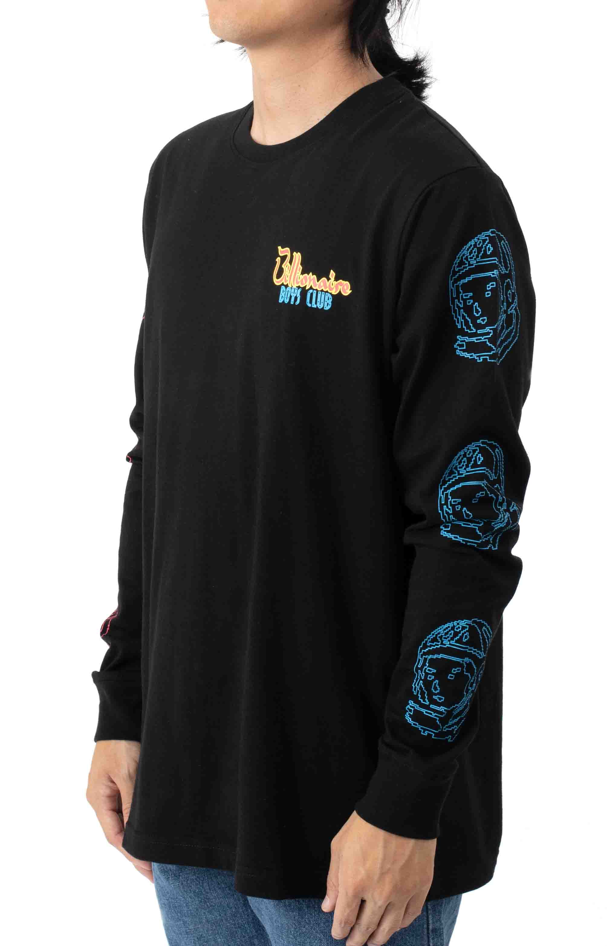 Heart and Mind L/S Shirt - Black  3