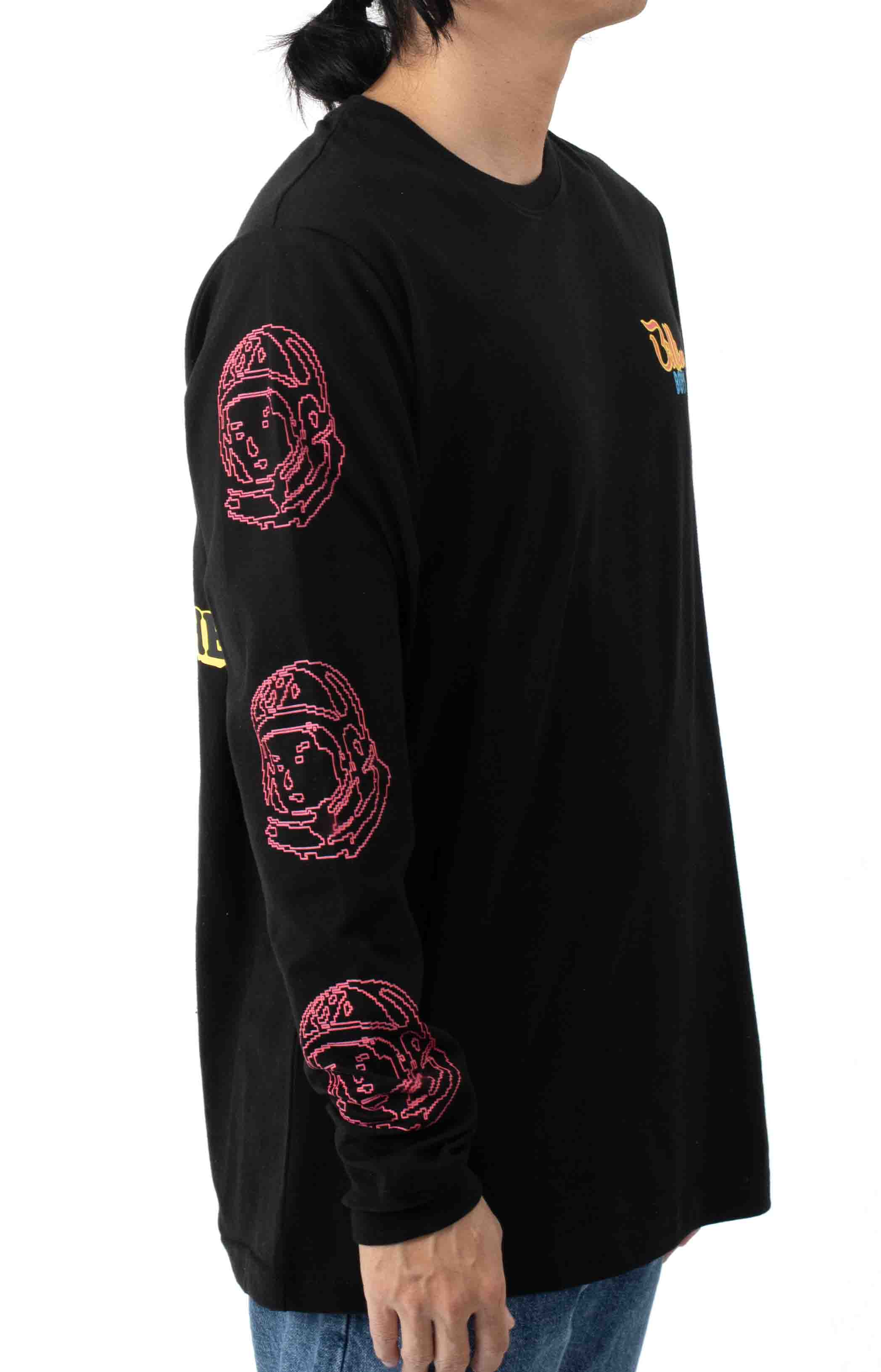 Heart and Mind L/S Shirt - Black  4