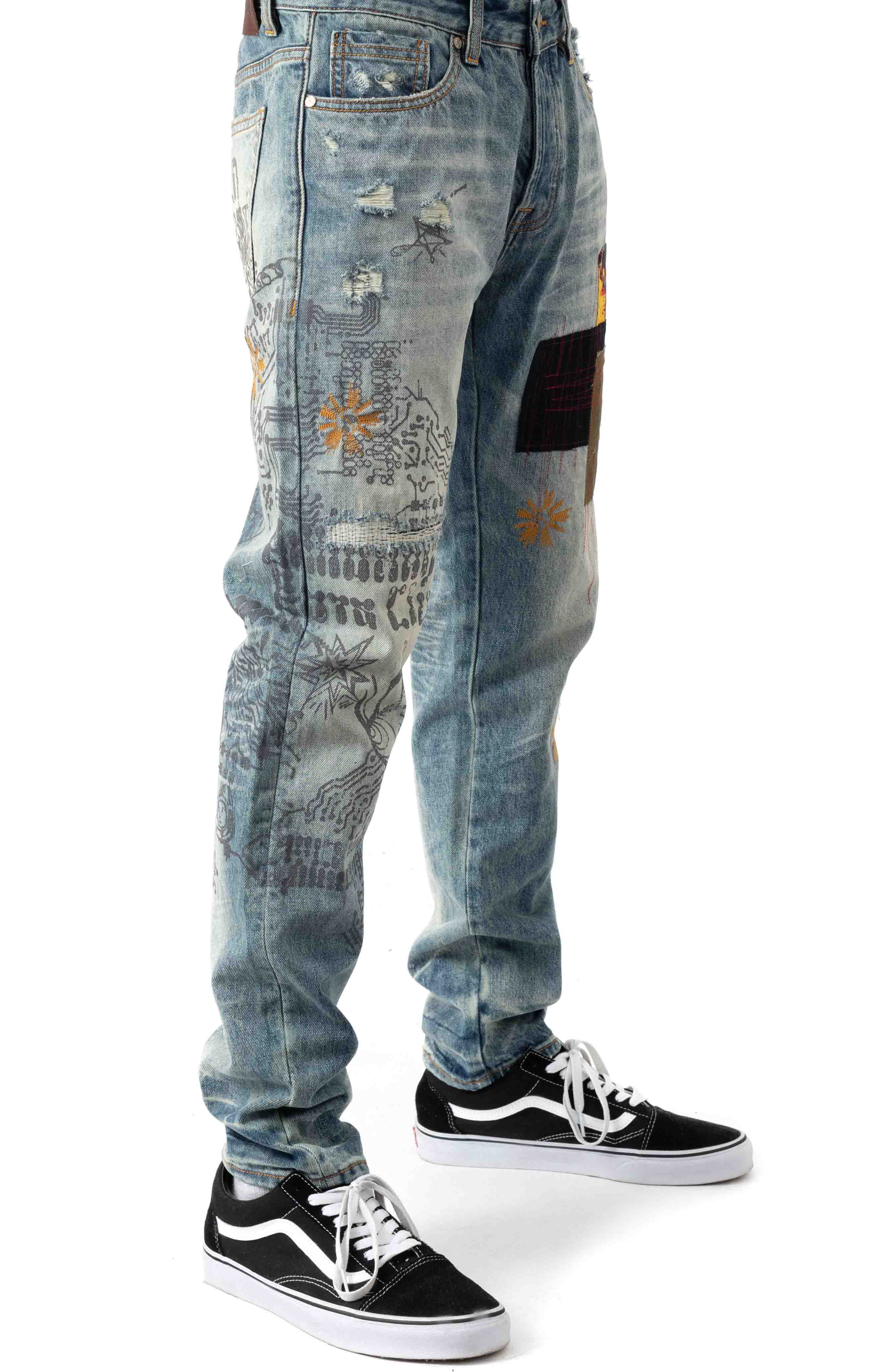 BB Circuits Jeans - Helix  2