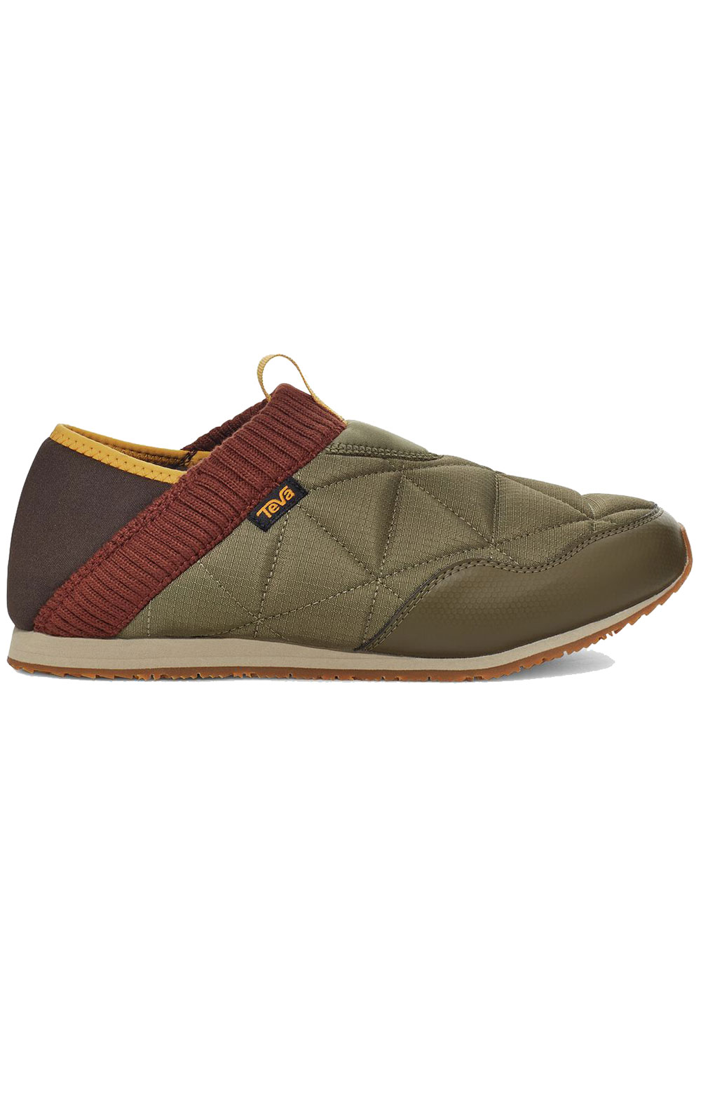 (1125472) ReEMBER Moccasins - Olive/Brown Multi