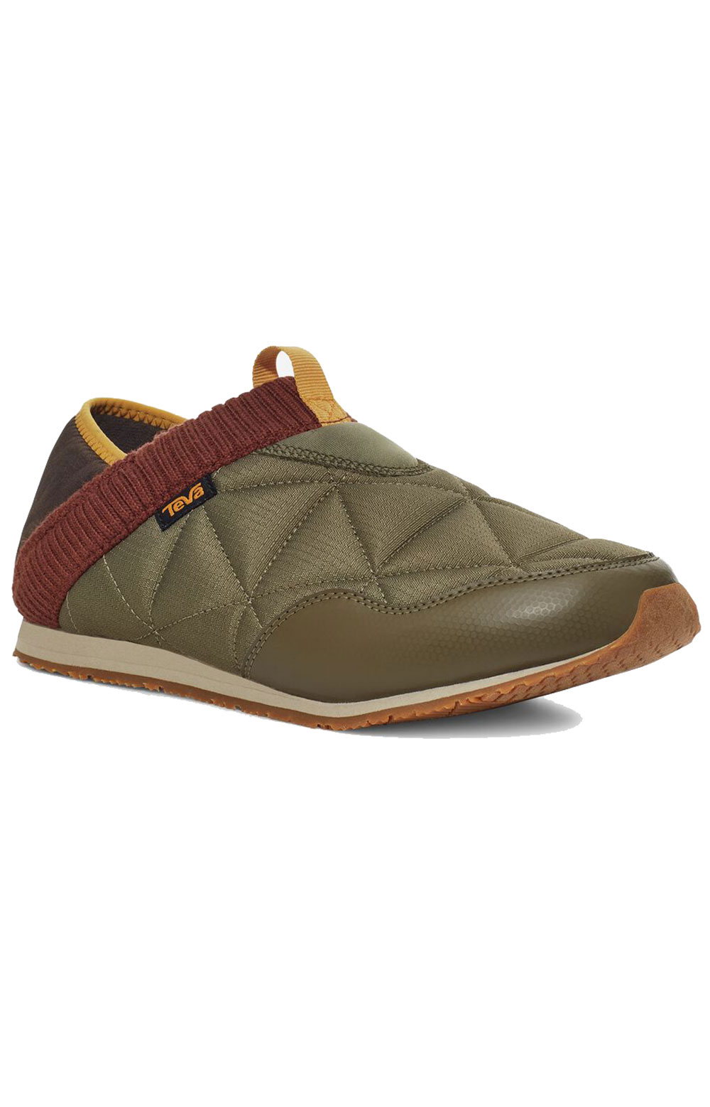 (1125472) ReEMBER Moccasins - Olive/Brown Multi  2