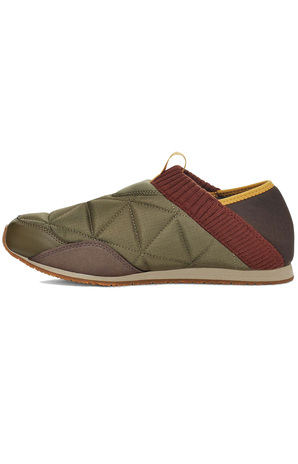 (1125472) ReEMBER Moccasins - Olive/Brown Multi  3