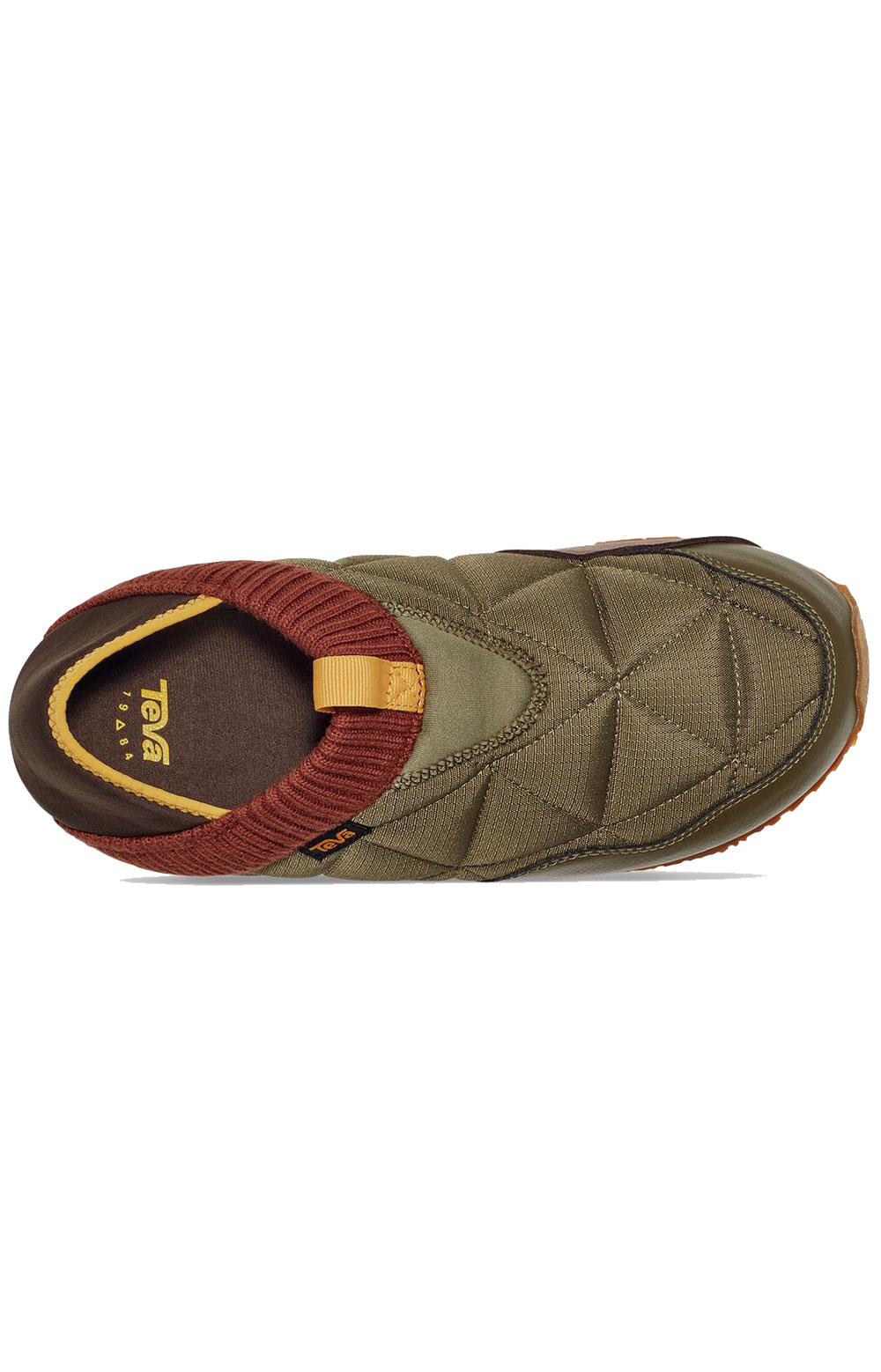 (1125472) ReEMBER Moccasins - Olive/Brown Multi  5