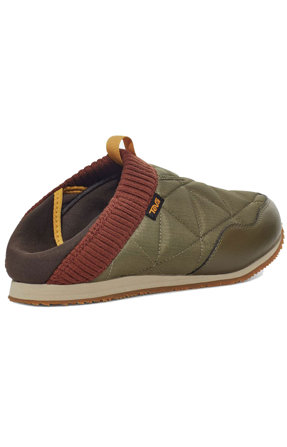 (1125472) ReEMBER Moccasins - Olive/Brown Multi  6