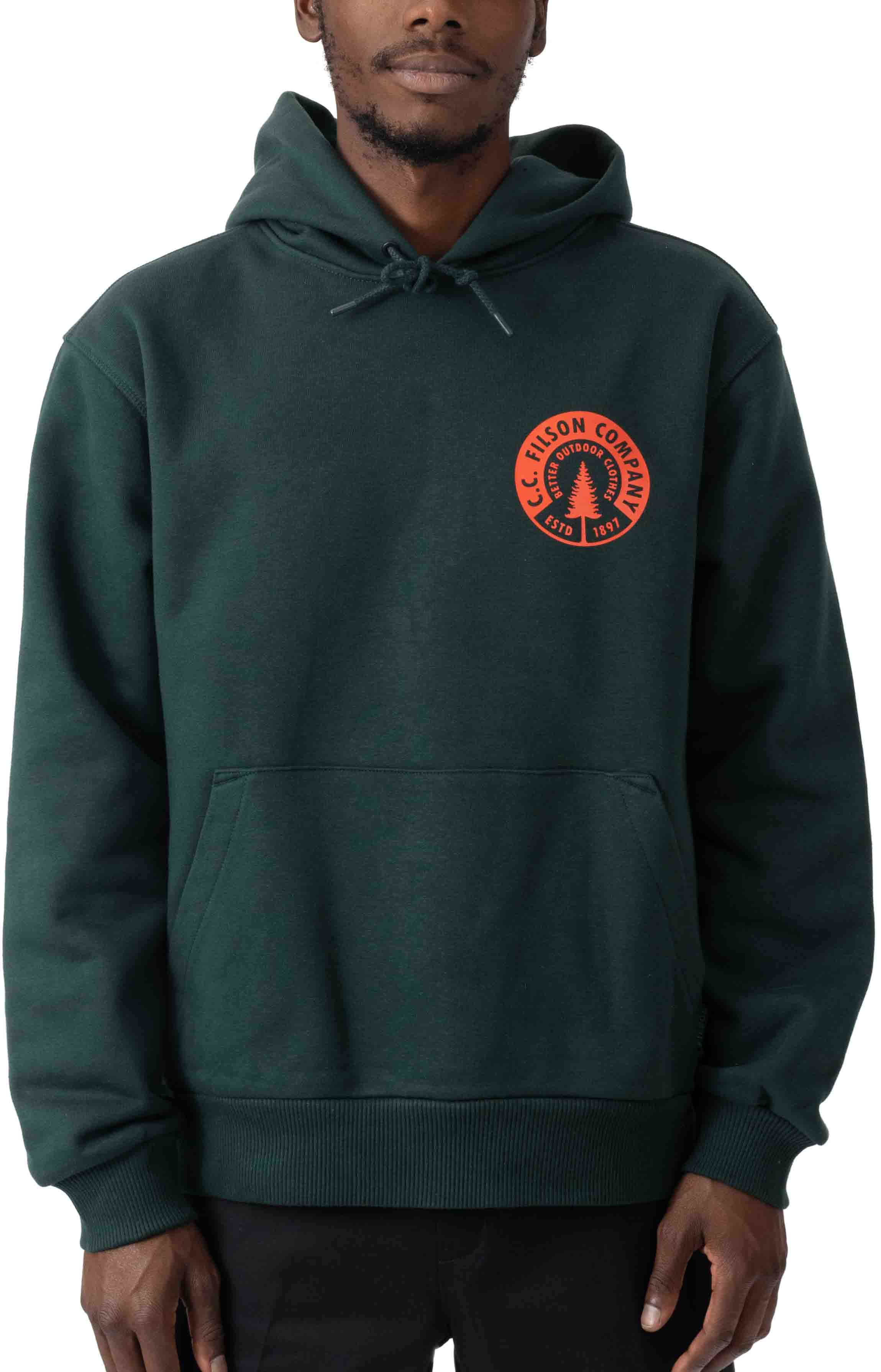 Prospector Graphic Pullover Hoodie - Green