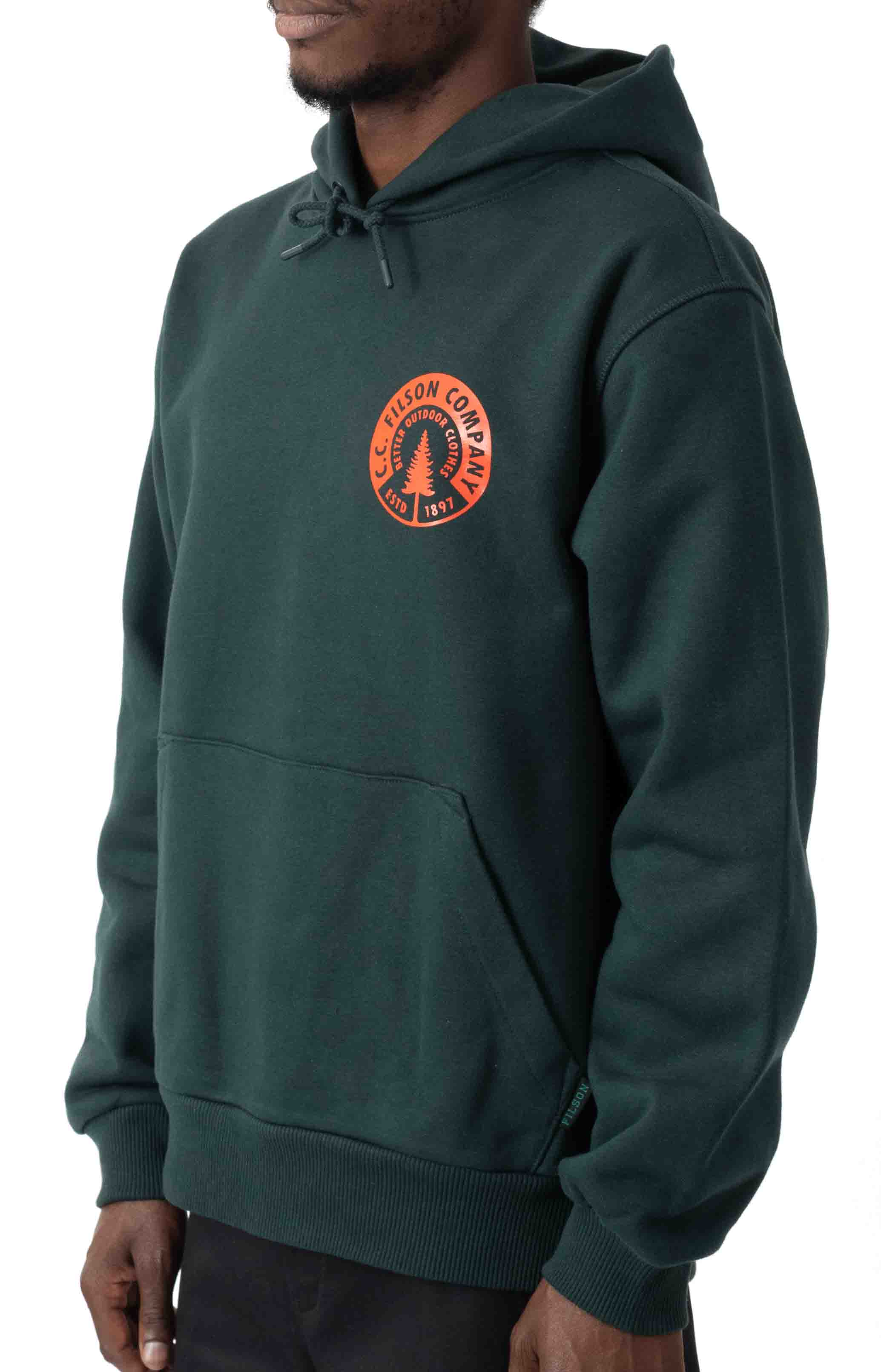 Prospector Graphic Pullover Hoodie - Green  2