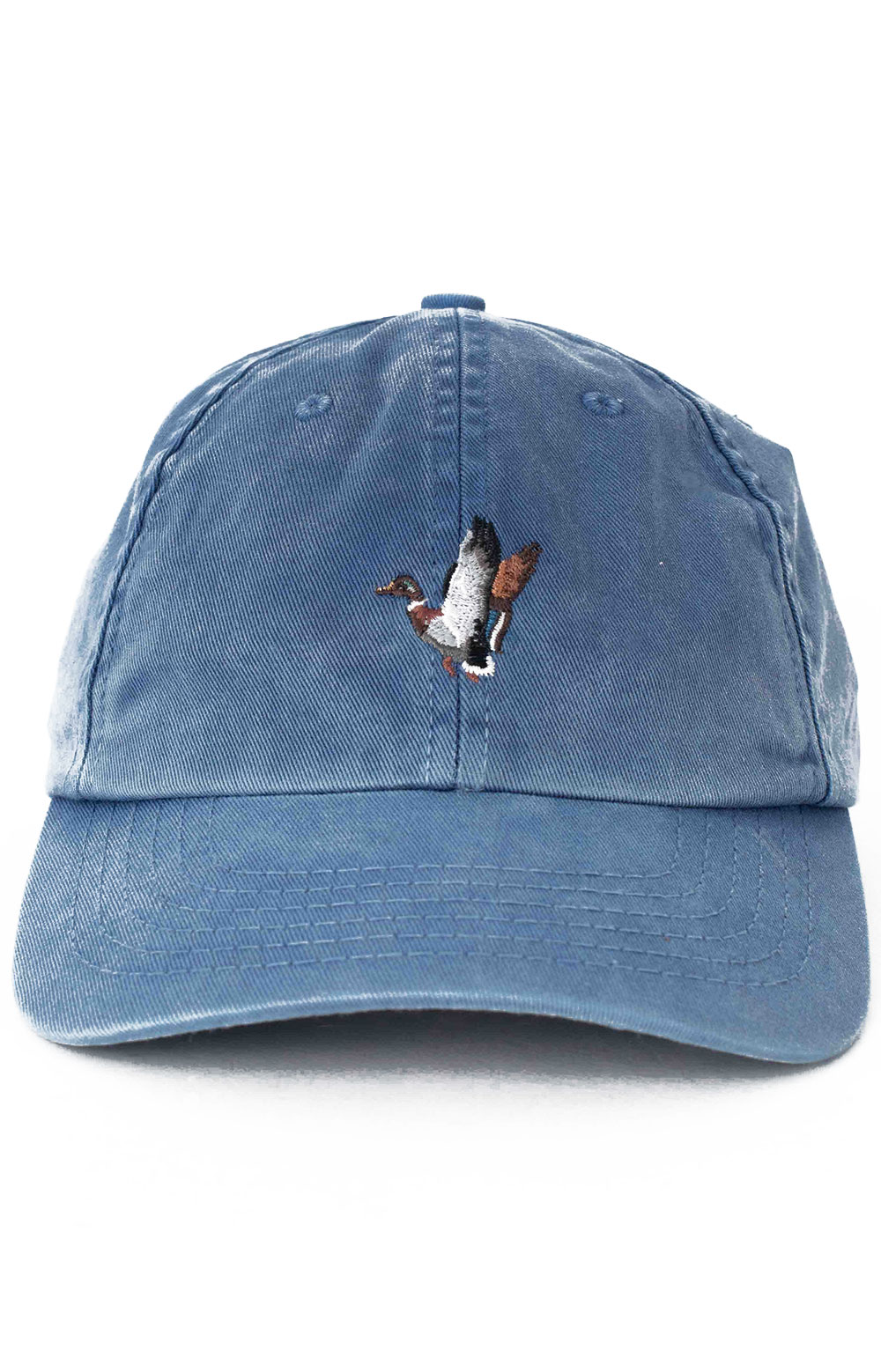 Washed Low Profile Cap - Faded Cobalt Duck  2