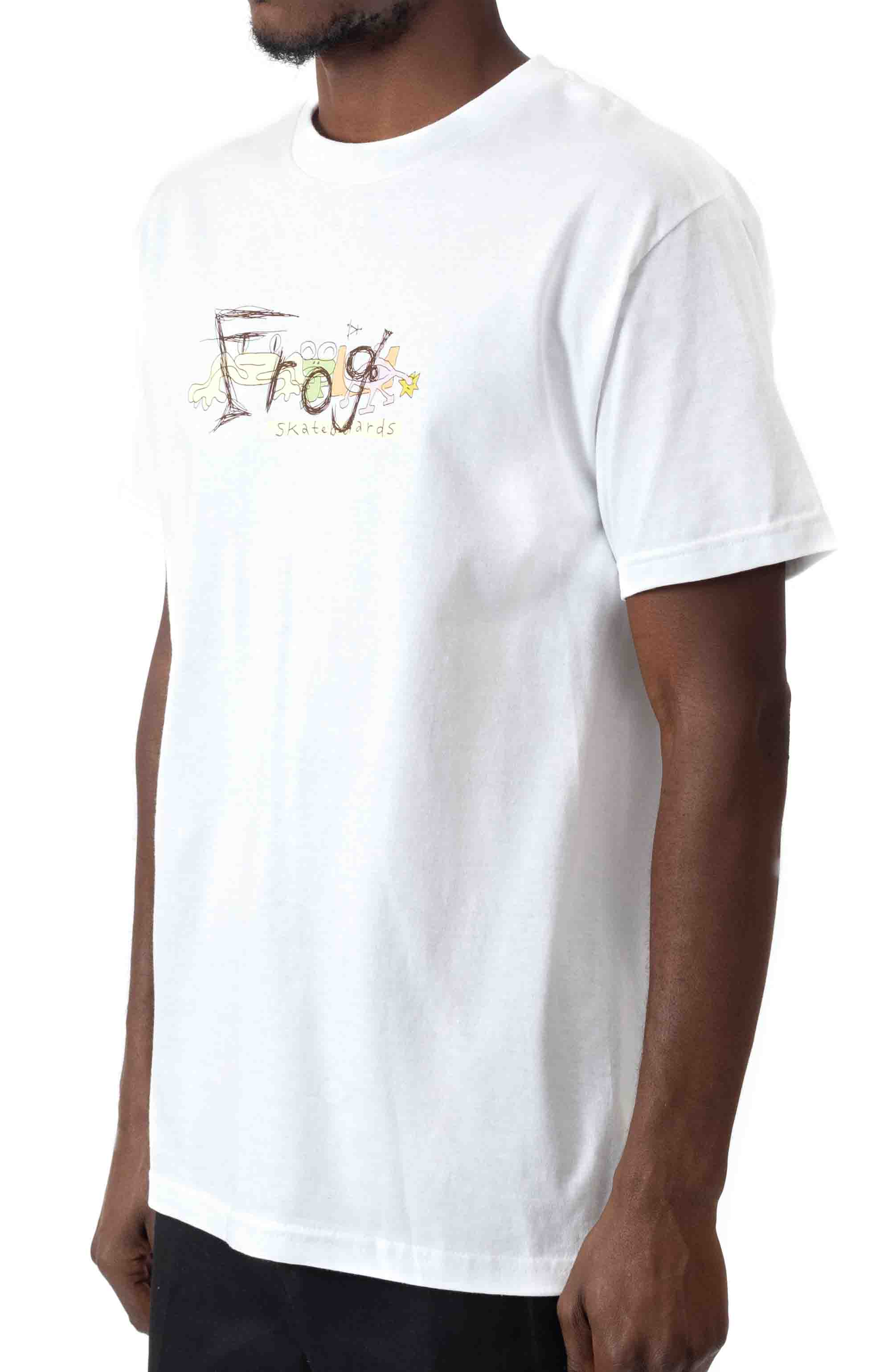 Busy Frog T-Shirt - White  2